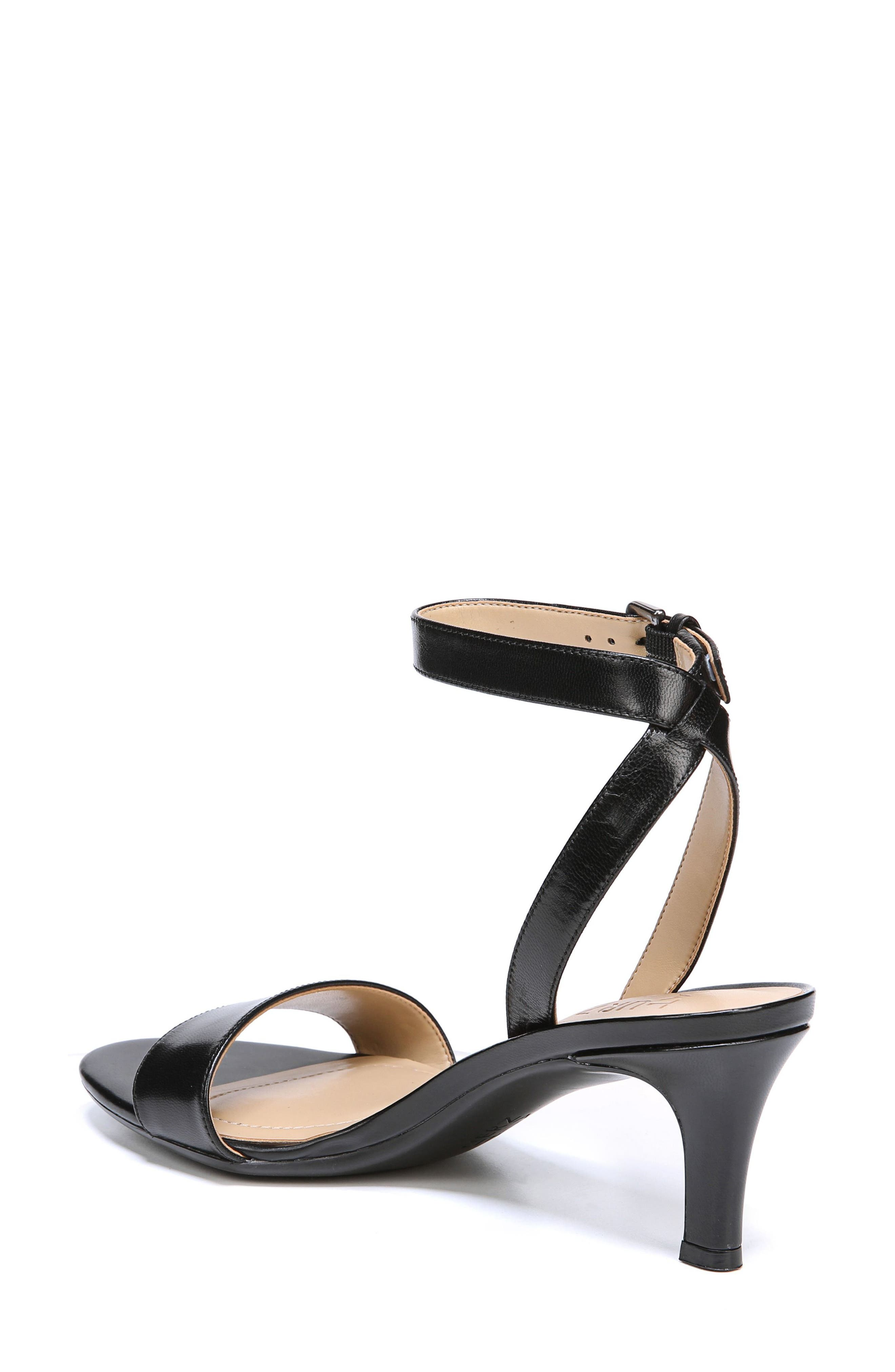 Tinda Sandal,                             Alternate thumbnail 2, color,                             BLACK LEATHER