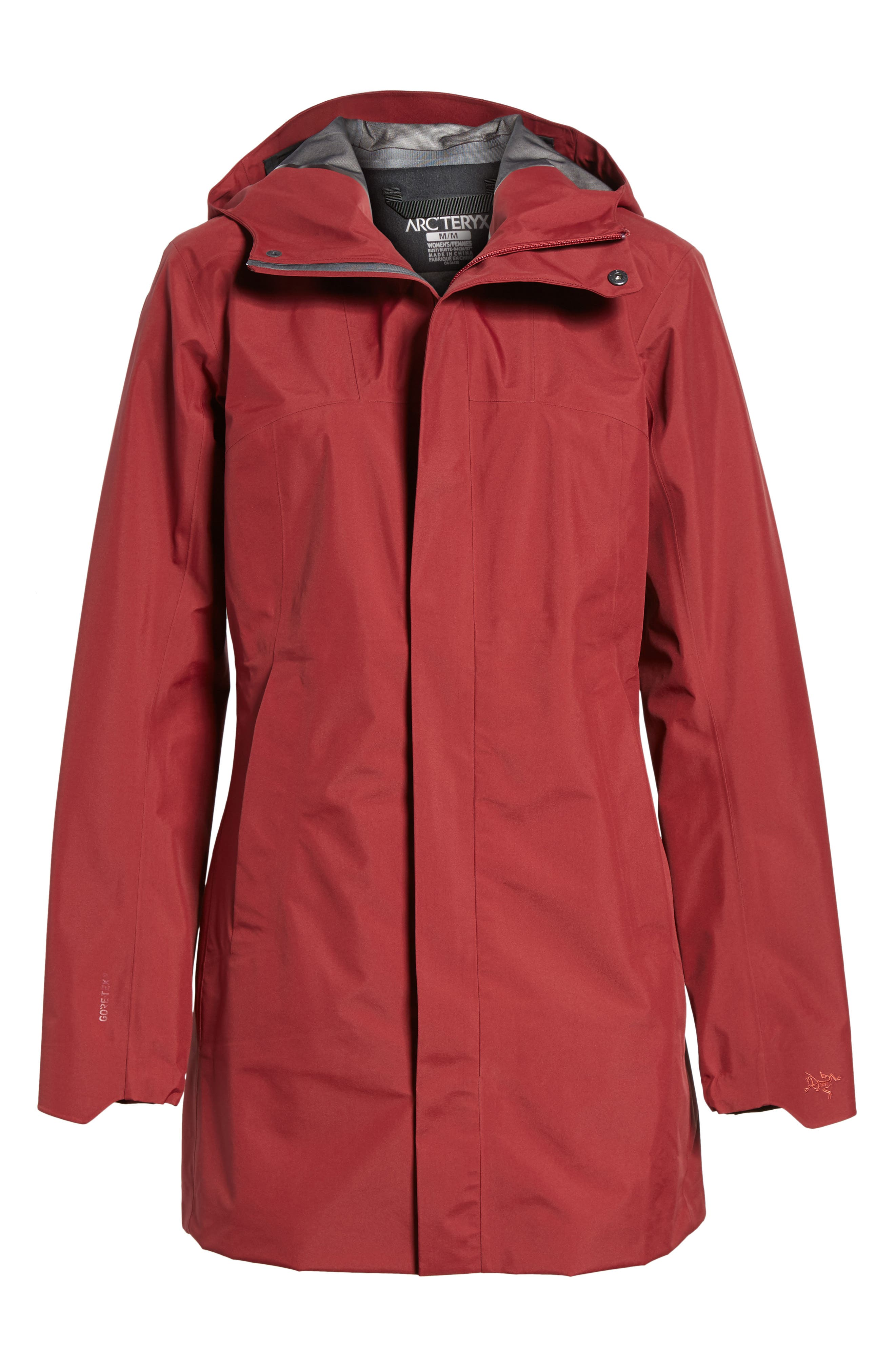 Codetta Waterproof Relaxed Fit Gore-Tex<sup>®</sup> 3L Rain Jacket,                             Alternate thumbnail 11, color,