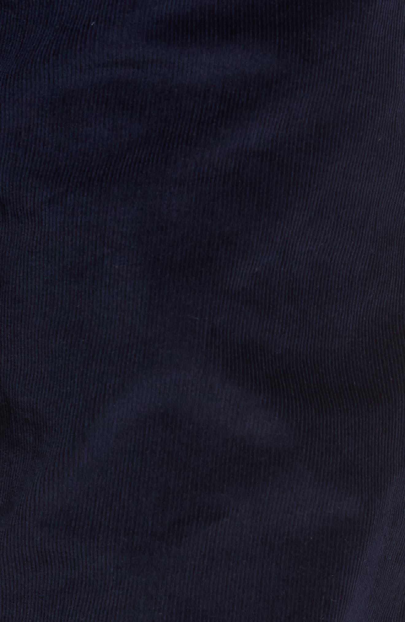 Slim Fit Corduroy Pants,                             Alternate thumbnail 5, color,