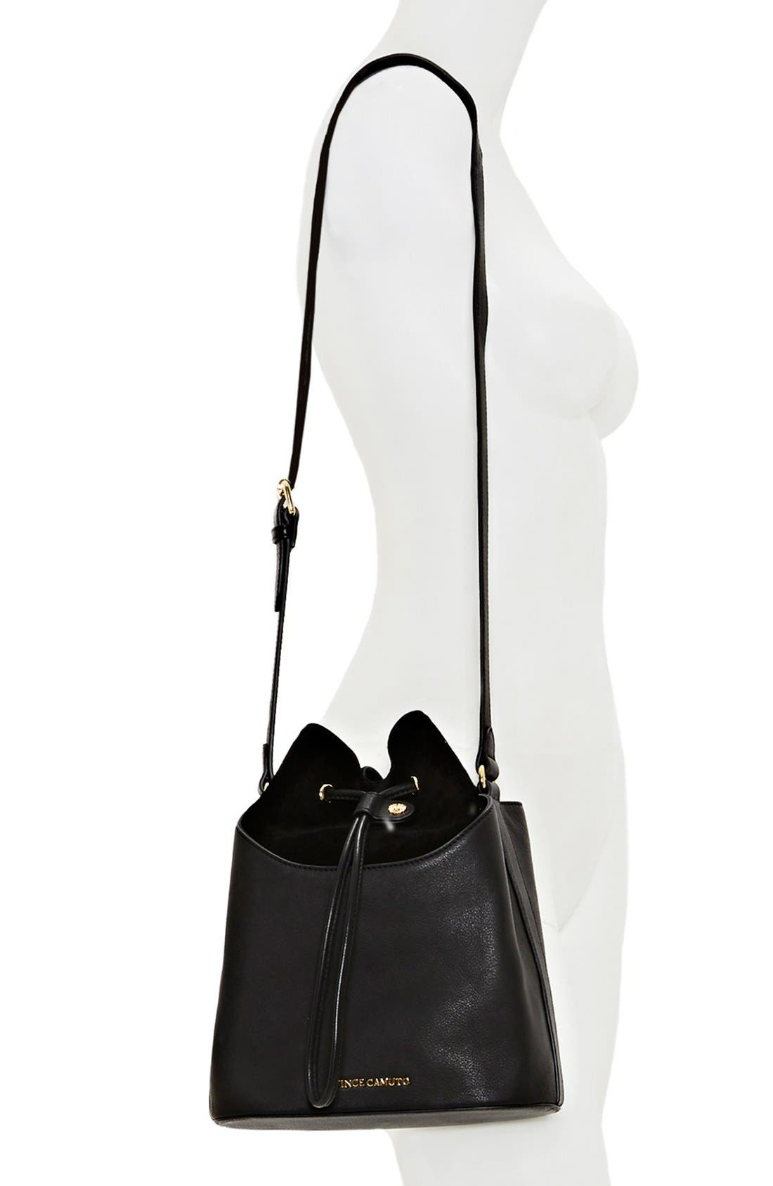 'Lenon' Bucket Bag,                             Alternate thumbnail 2, color,                             002