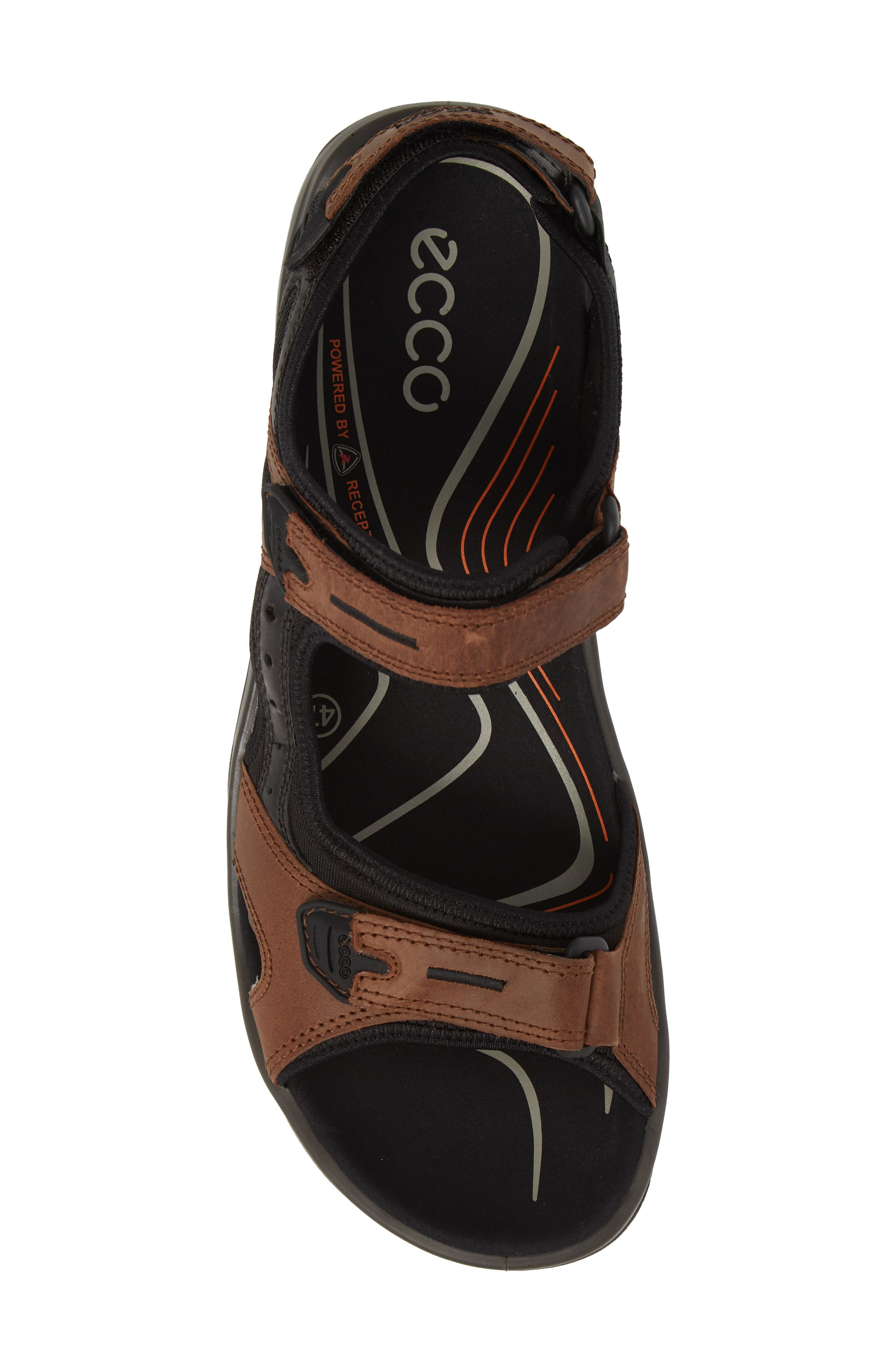 'Yucatan' Sandal,                             Alternate thumbnail 6, color,                             BROWN/BLACK