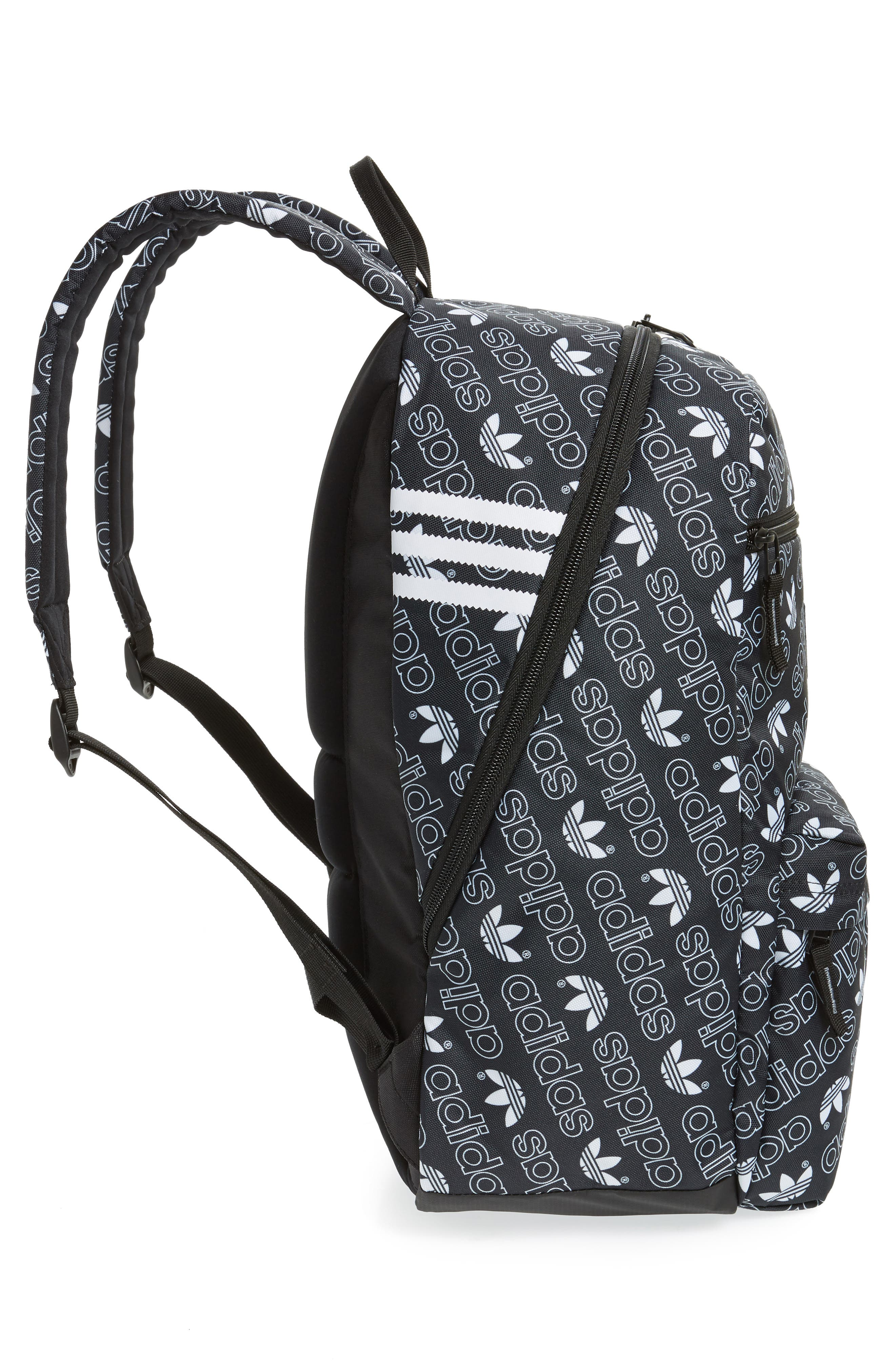 Monogram National Backpack,                             Alternate thumbnail 5, color,                             BLACK MONOGRAM