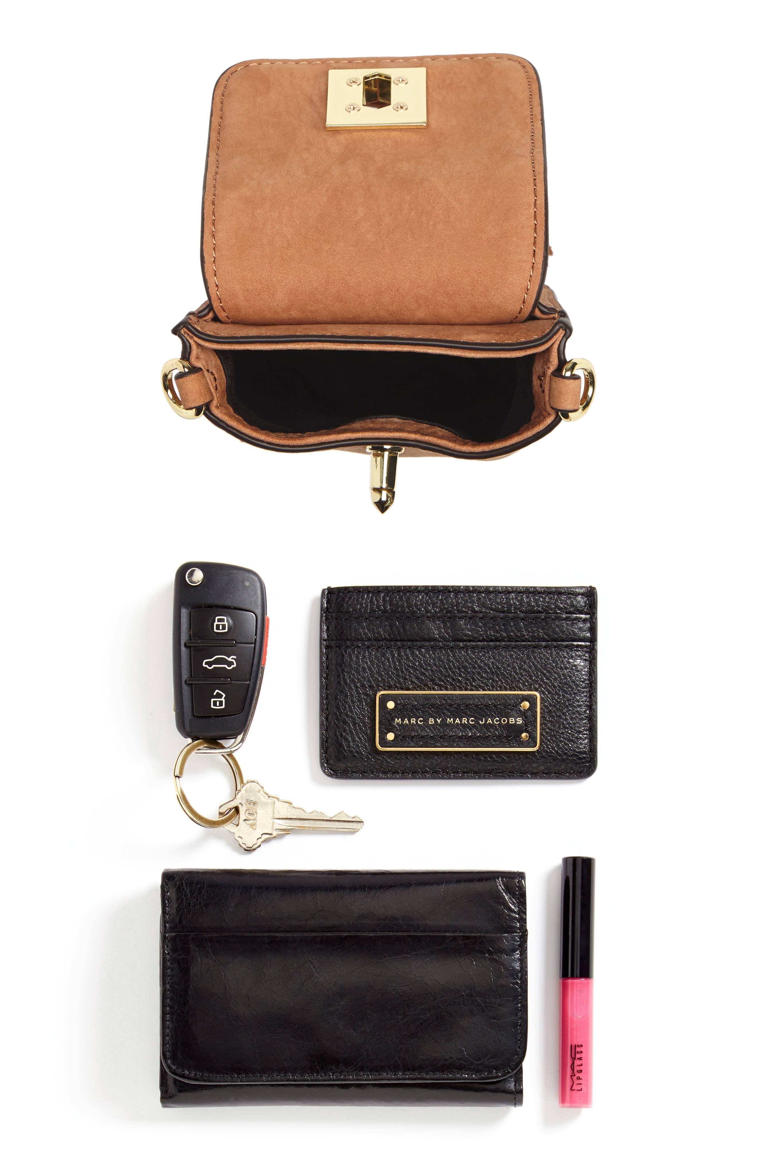 Darren Leather Phone Crossbody Bag,                             Alternate thumbnail 7, color,                             230