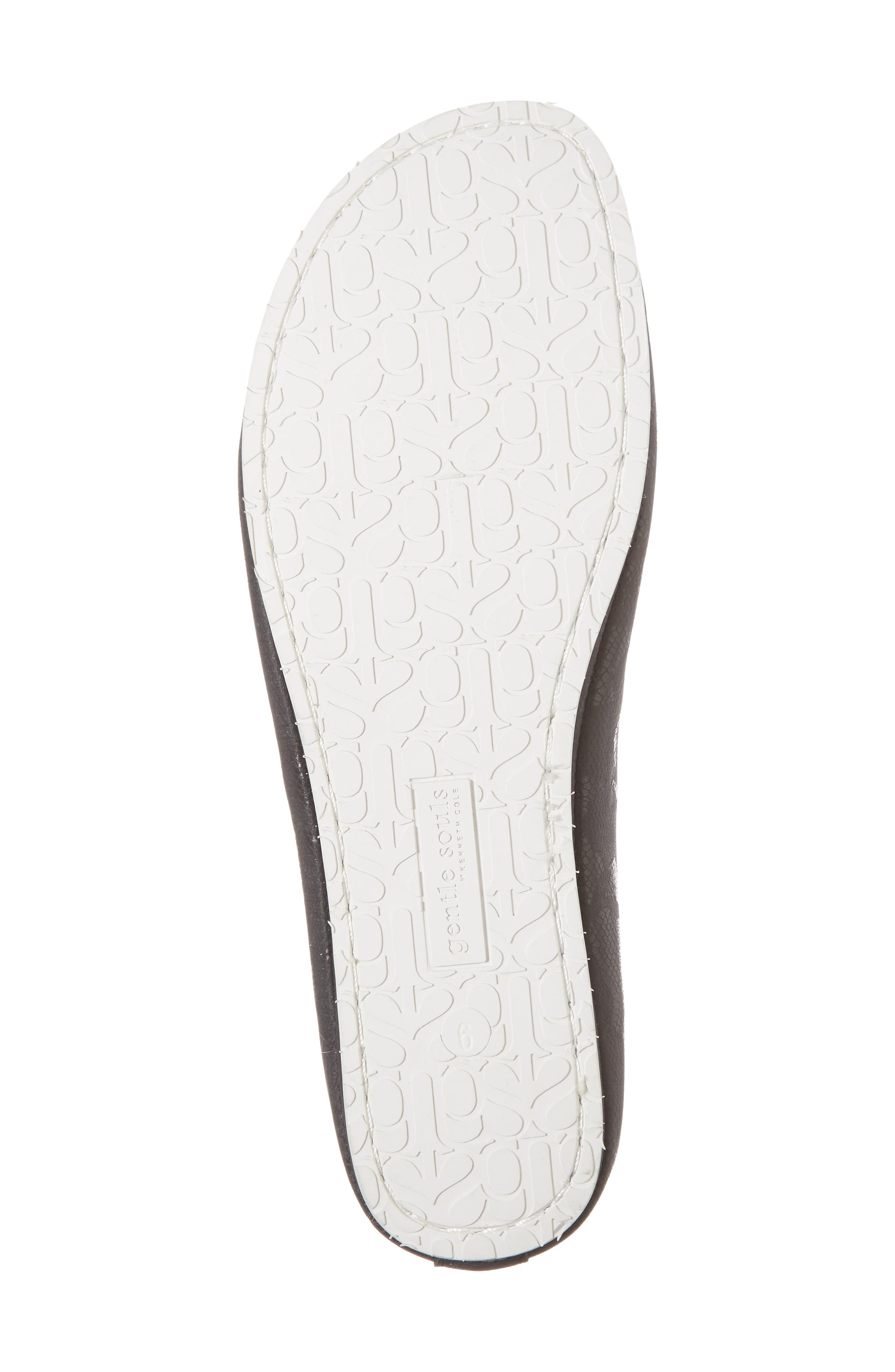 by Kenneth Cole Dana Flat,                             Alternate thumbnail 6, color,                             BLACK/ BLACK LEATHER