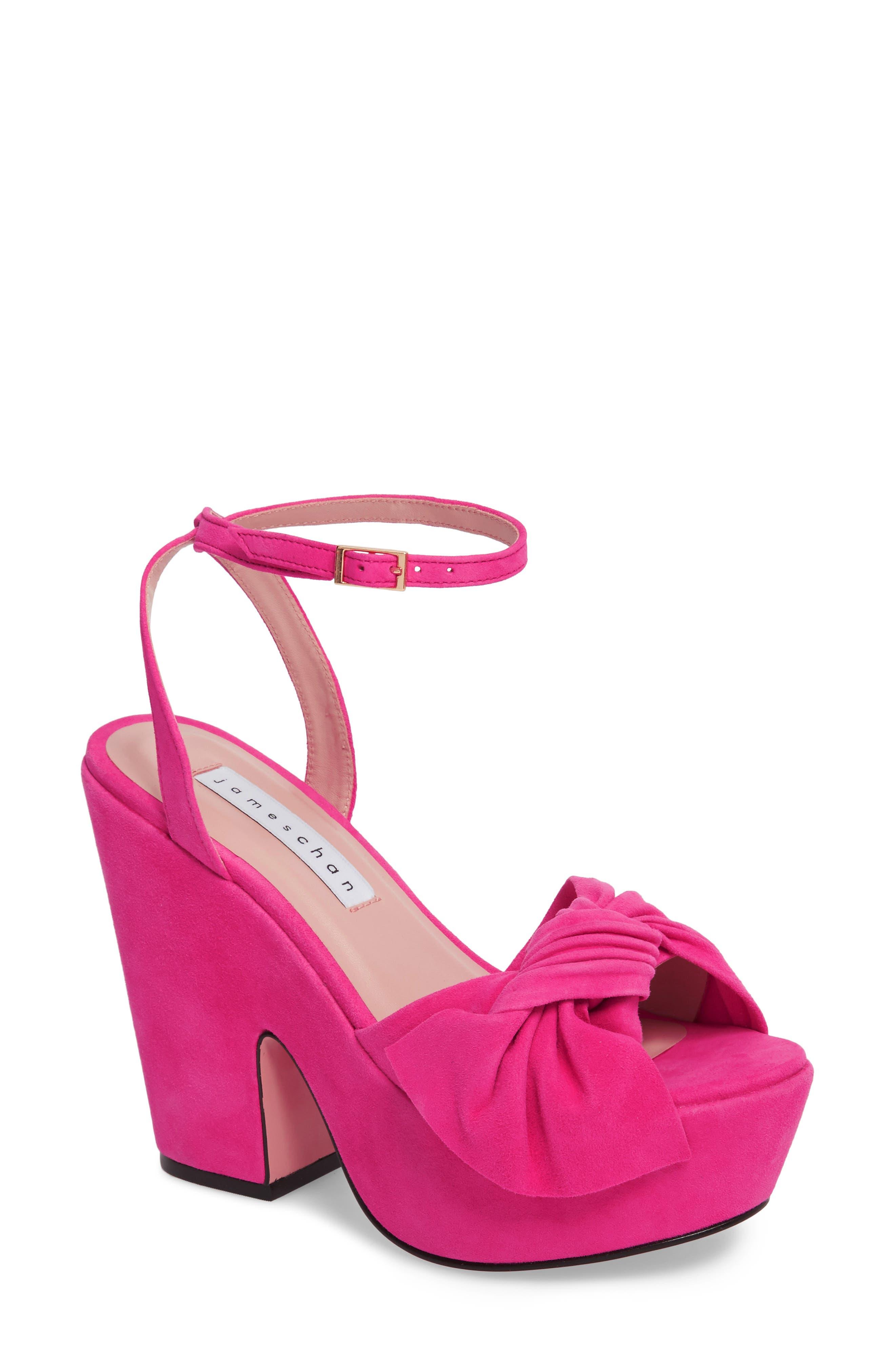 Pinky Platform Sandal,                             Main thumbnail 3, color,