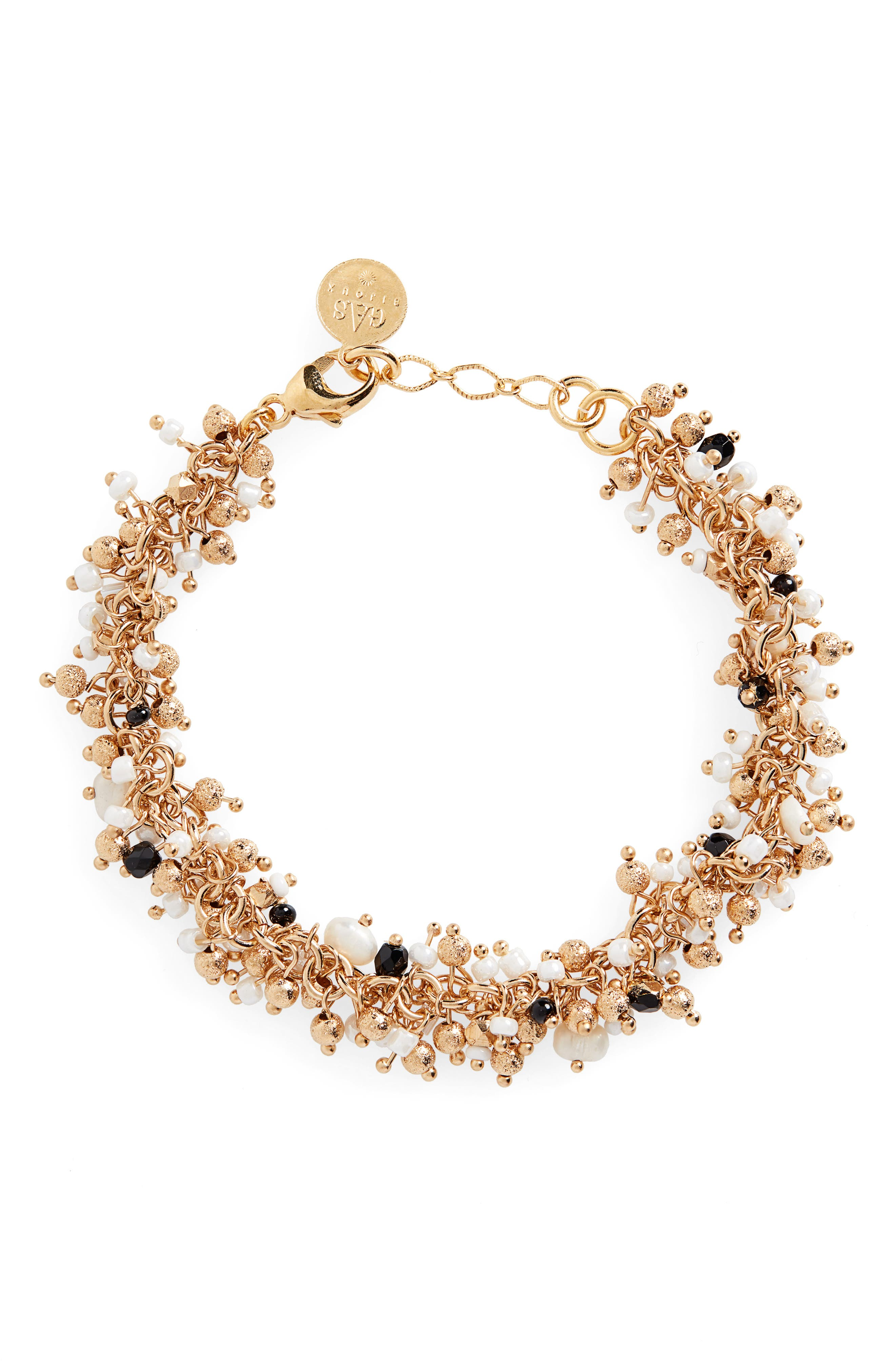 GAS BIJOUX Gioa Charm Bracelet in Gold
