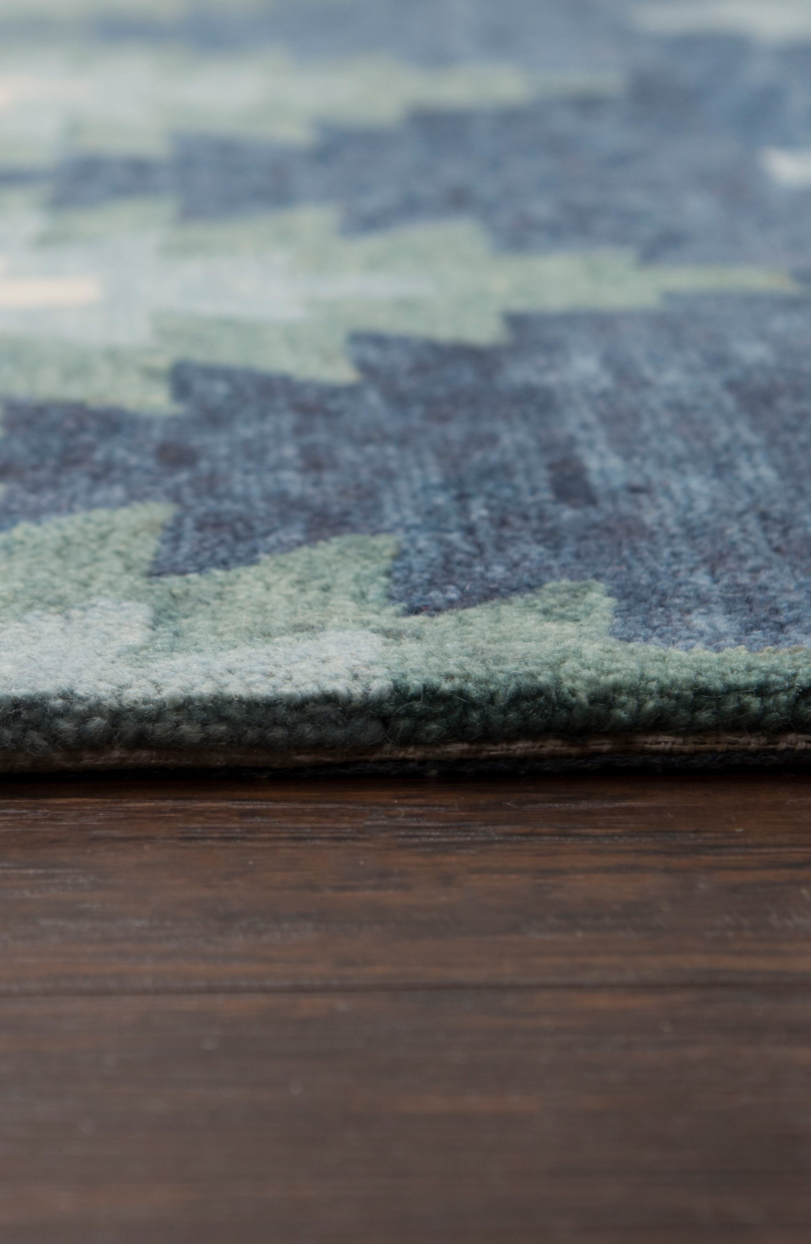 Taos Hand Tufted Wool Area Rug,                             Alternate thumbnail 3, color,                             400
