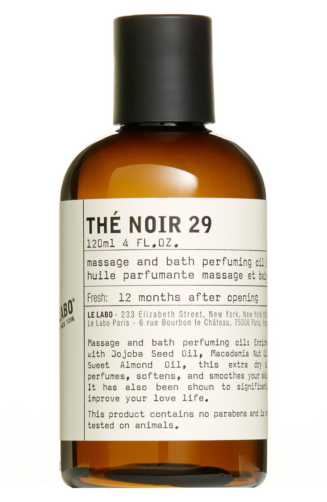 'Thé Noir 29' Body Oil,                             Main thumbnail 1, color,                             000