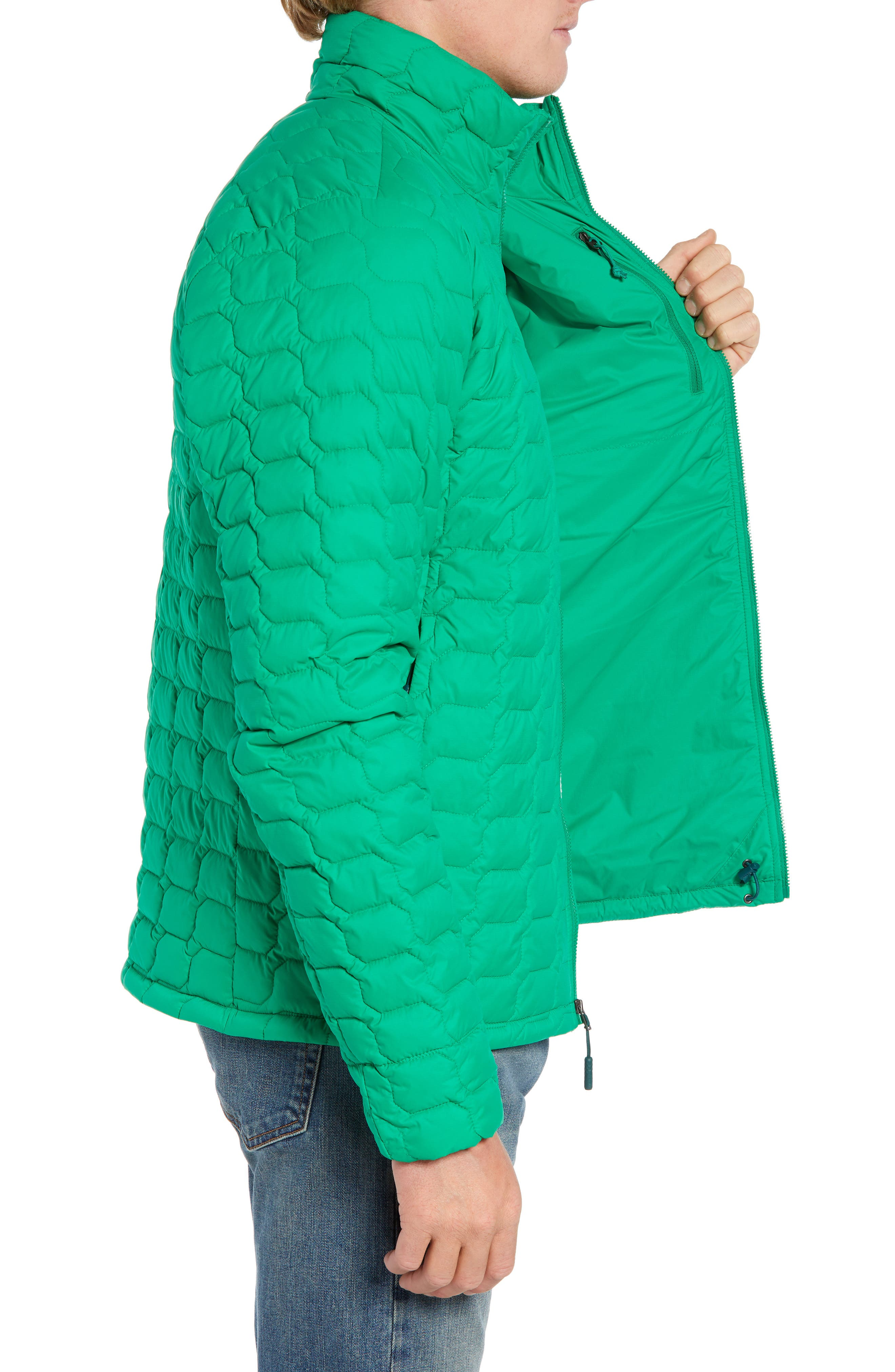 THE NORTH FACE,                             ThermoBall<sup>™</sup> Jacket,                             Alternate thumbnail 3, color,                             PRIMARY GREEN MATTE