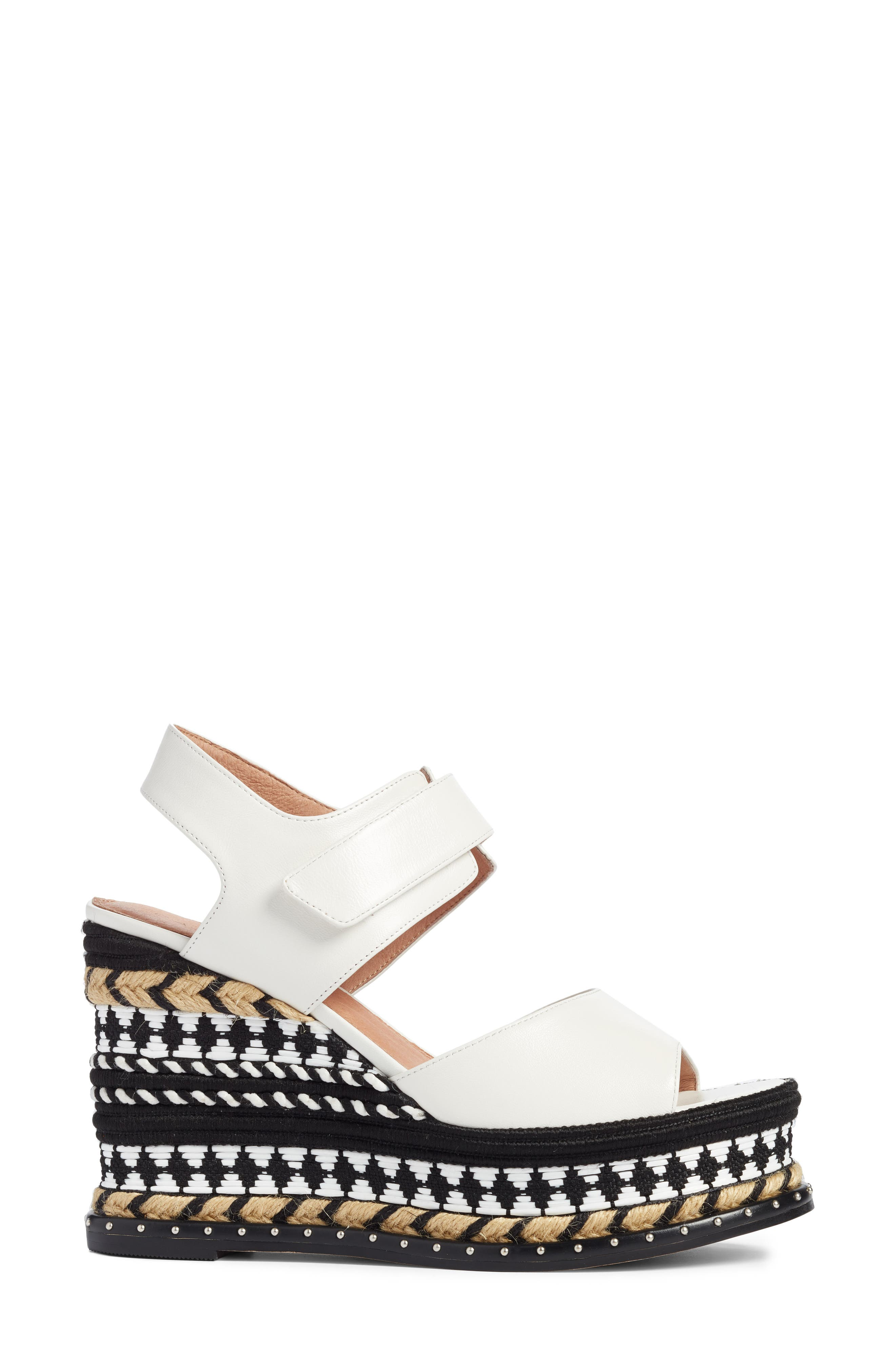 Braxton Platform Wedge Sandal,                             Alternate thumbnail 6, color,