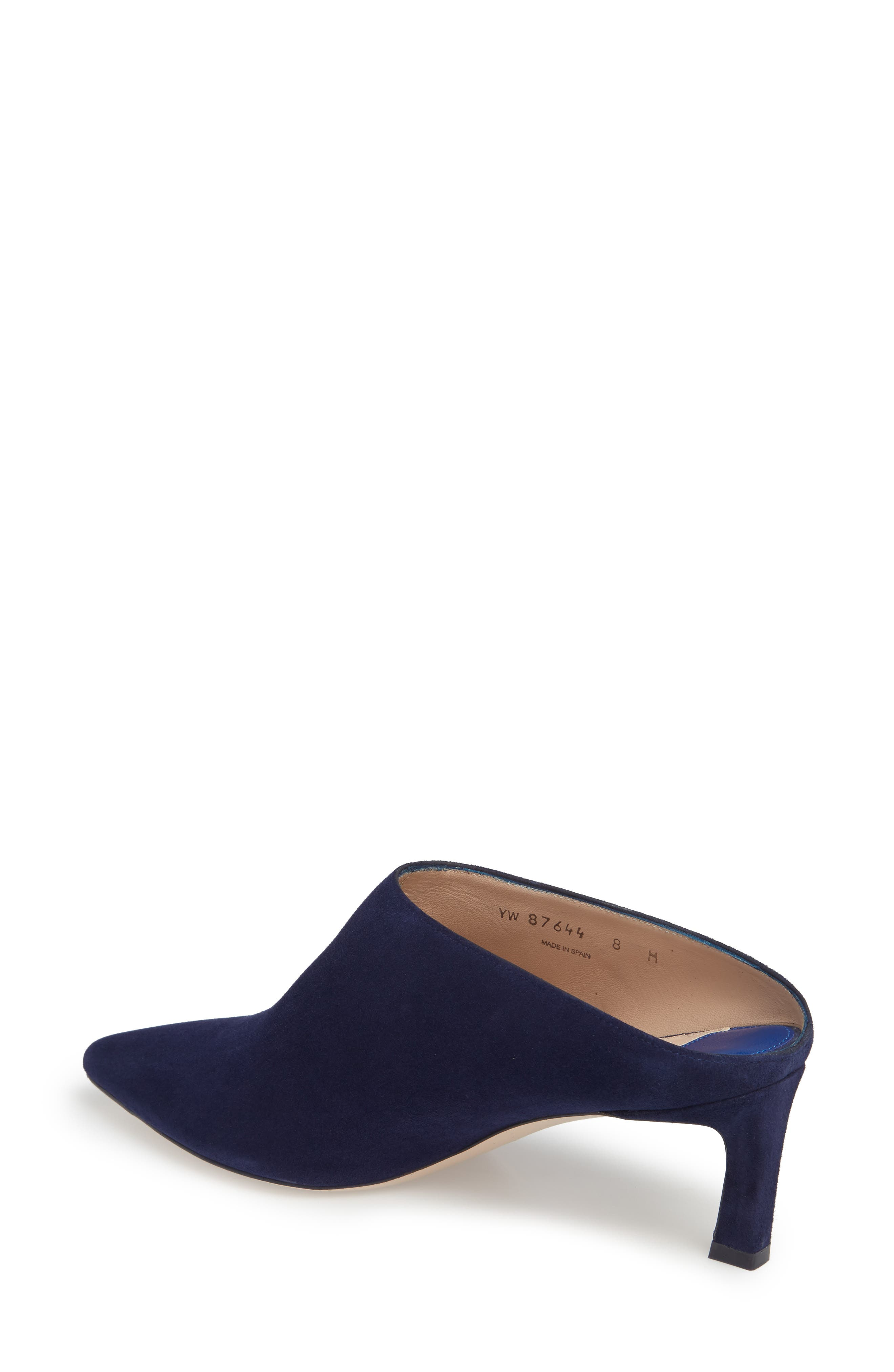 Mira Pointy Toe Mule,                             Alternate thumbnail 14, color,