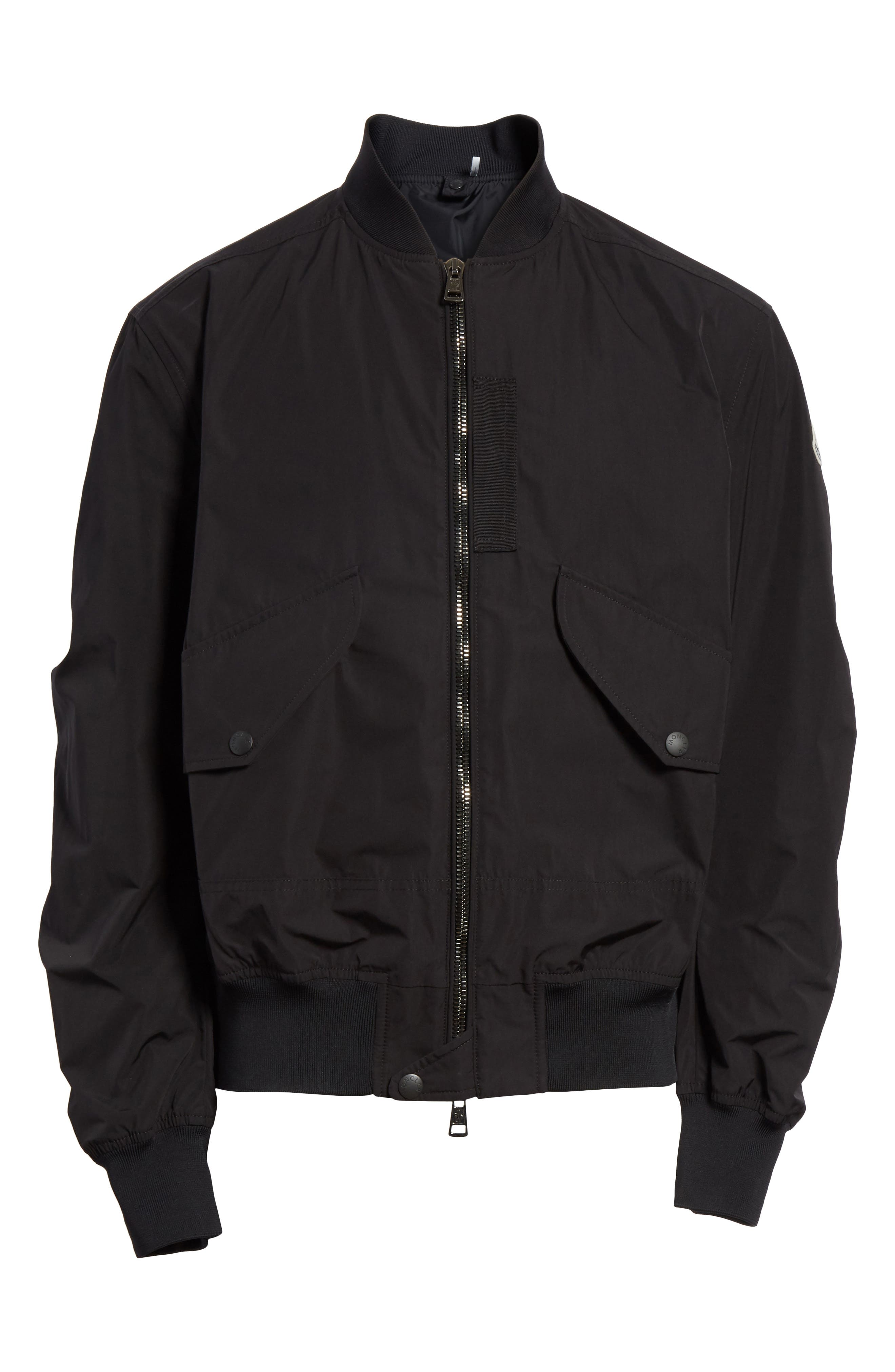 Artouste Bomber Jacket,                             Alternate thumbnail 5, color,                             001
