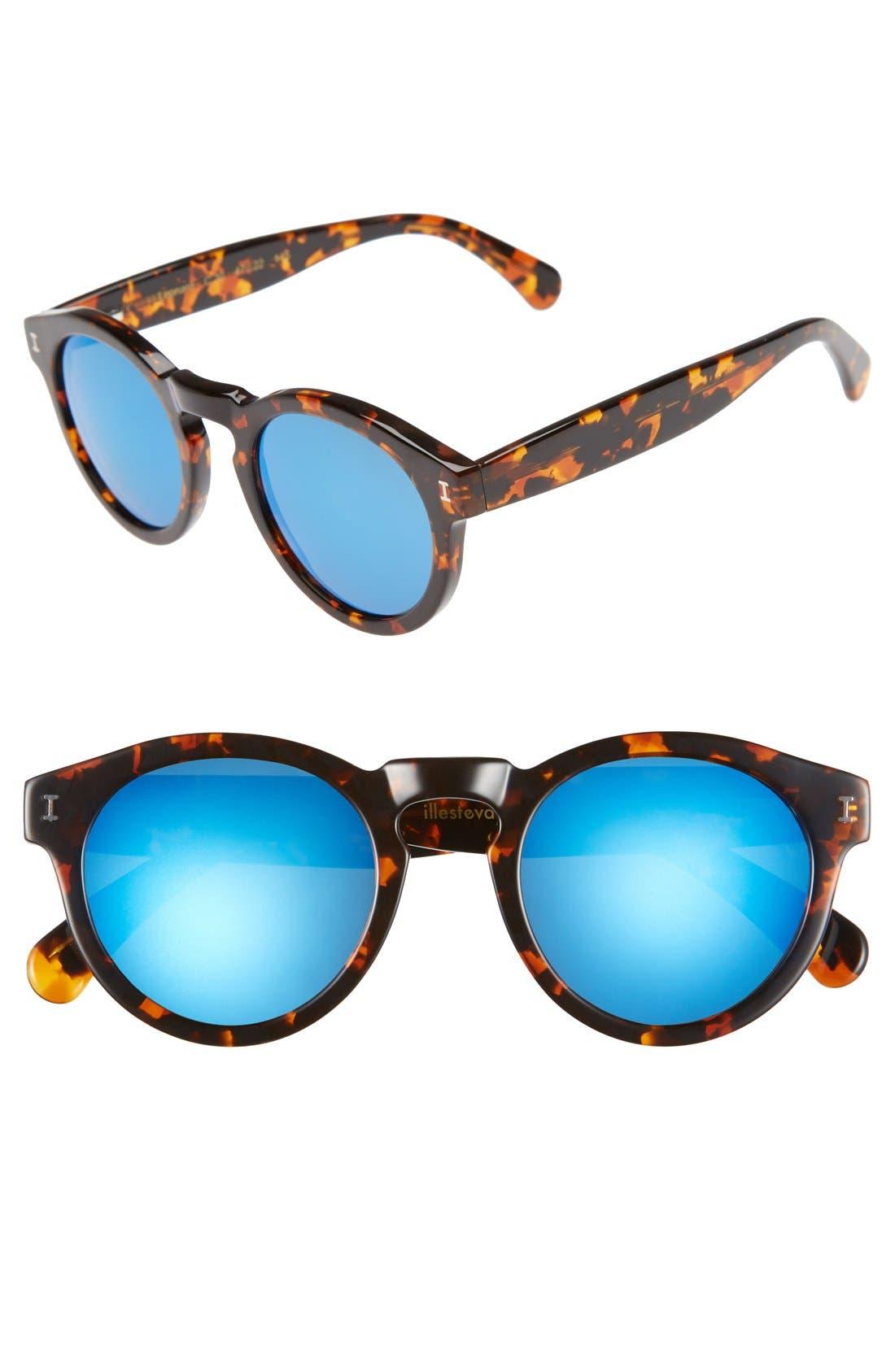 'Leonard' 47mm Sunglasses,                             Main thumbnail 52, color,