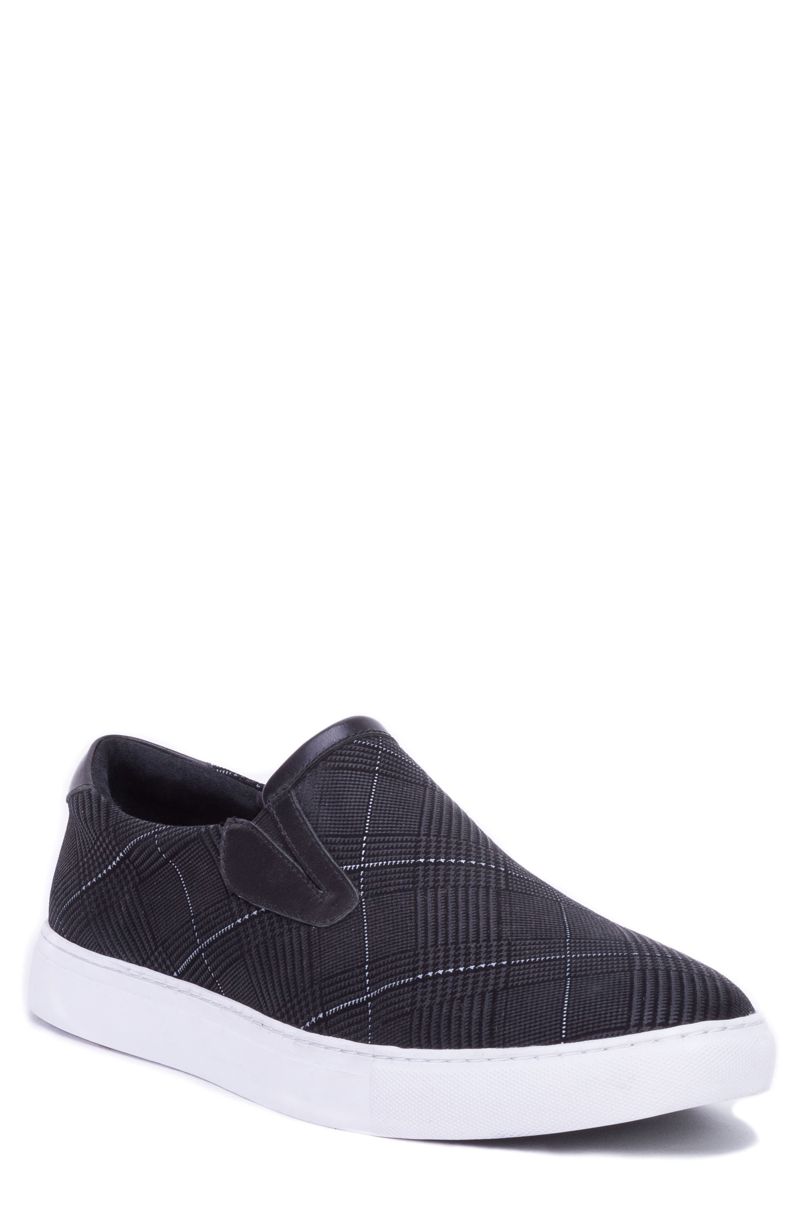 Kerby Slip-On Sneaker,                             Main thumbnail 1, color,                             BLACK SUEDE