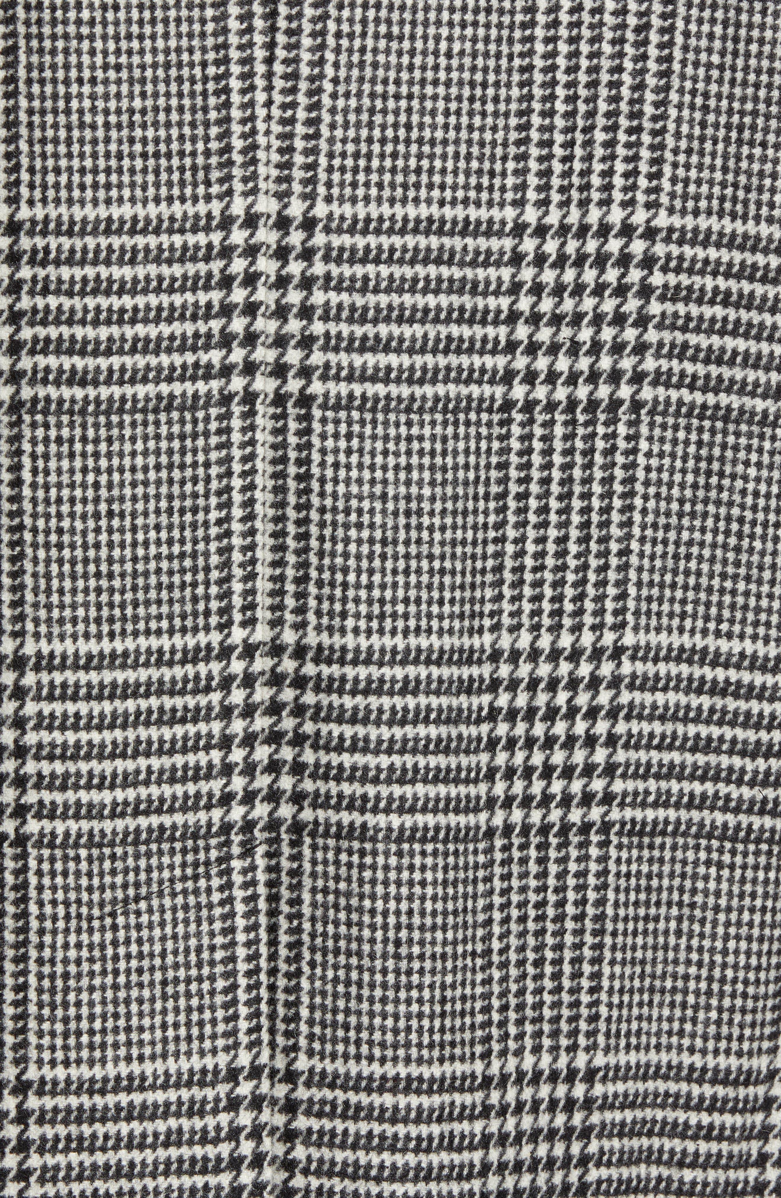 Ludlow Glen Plaid Topcoat,                             Alternate thumbnail 7, color,                             FUZZY GLENPLAID