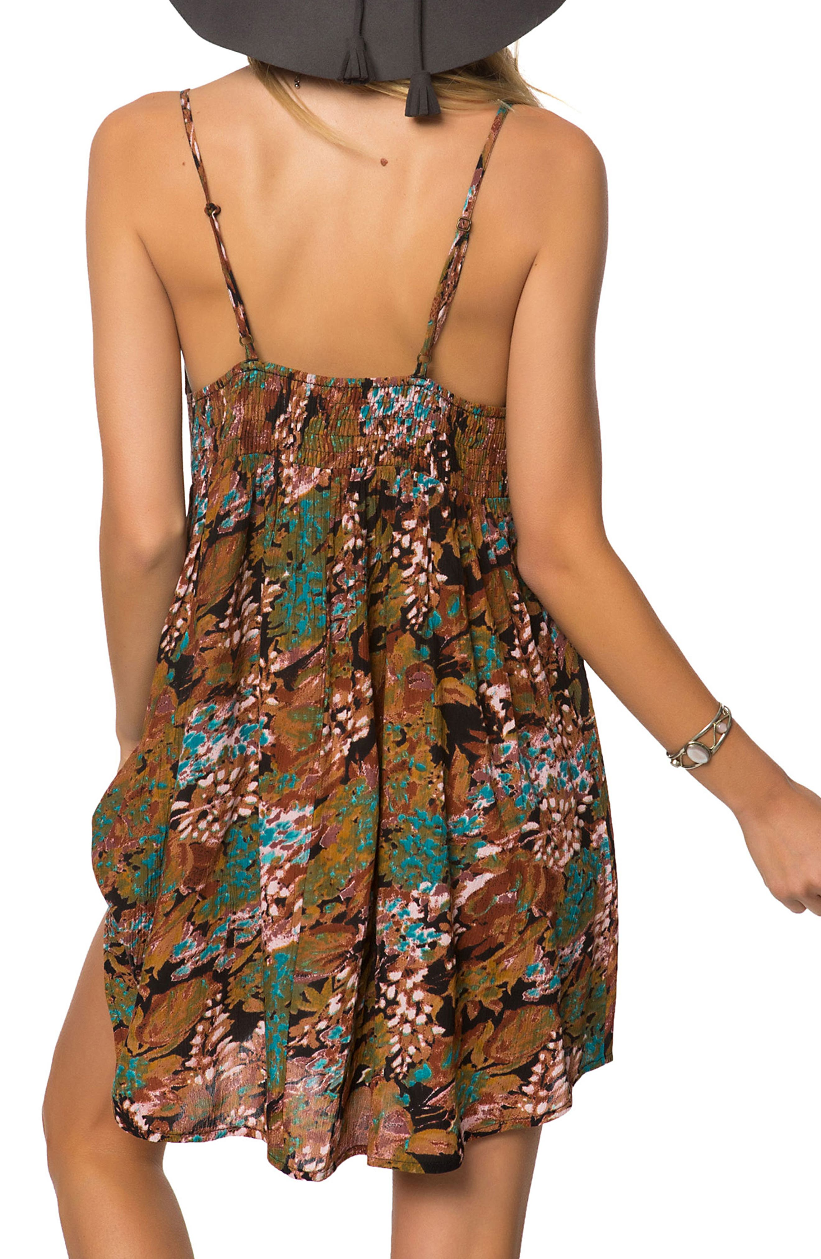 Marnie Print Camisole Dress,                             Alternate thumbnail 2, color,