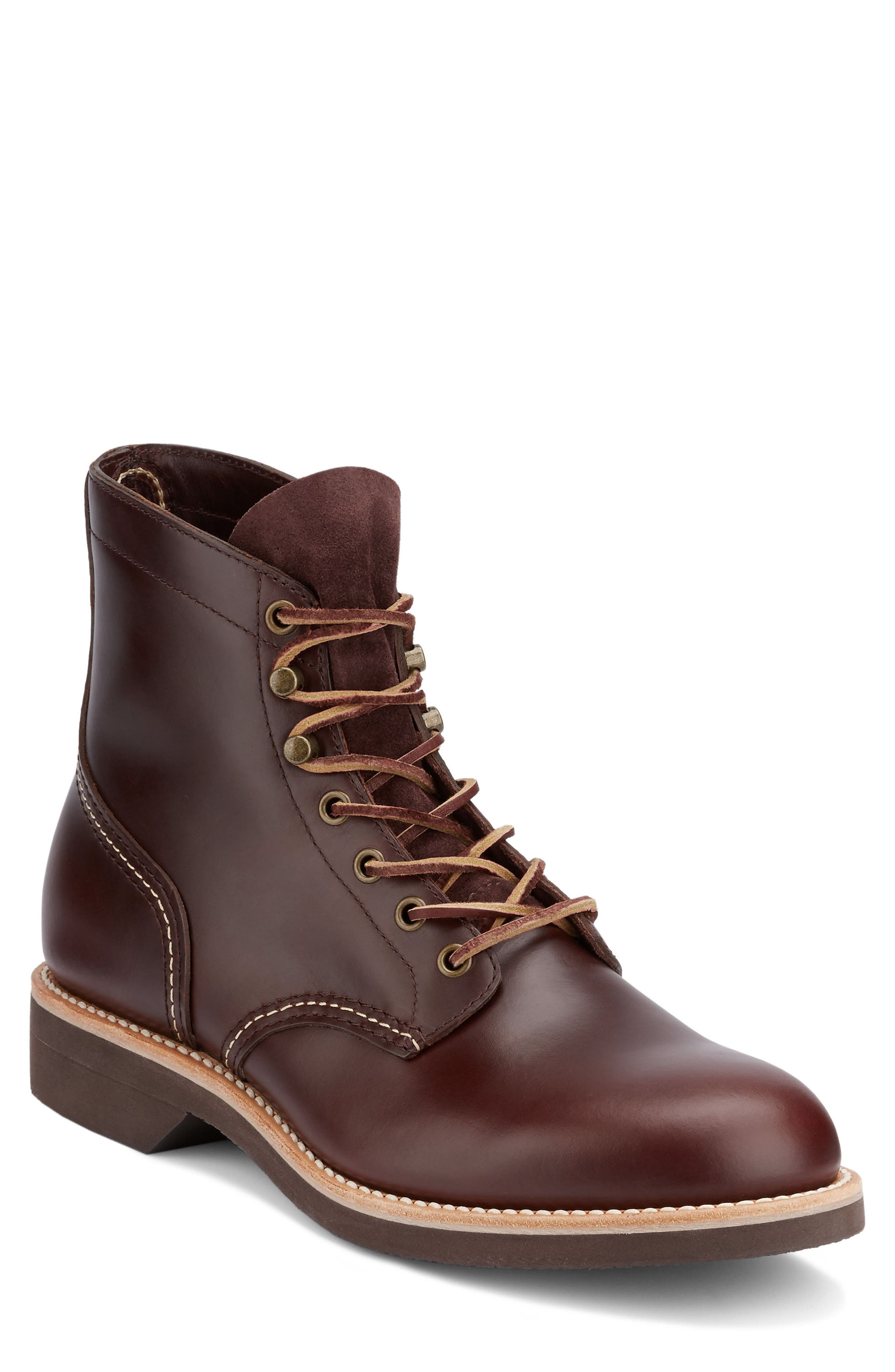 Reid Plain Toe Boot,                             Main thumbnail 2, color,