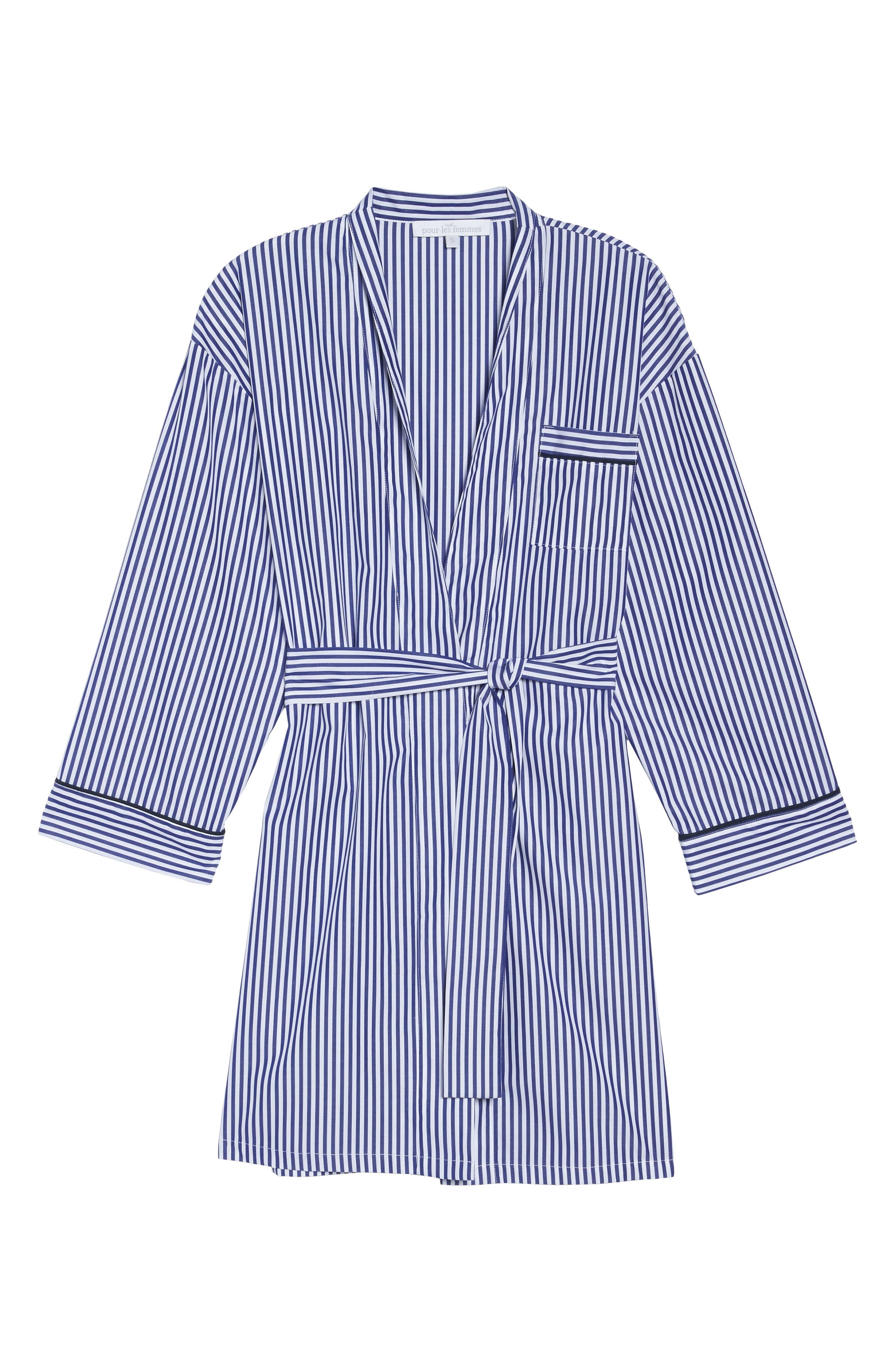 Stripe Robe,                             Alternate thumbnail 6, color,                             400