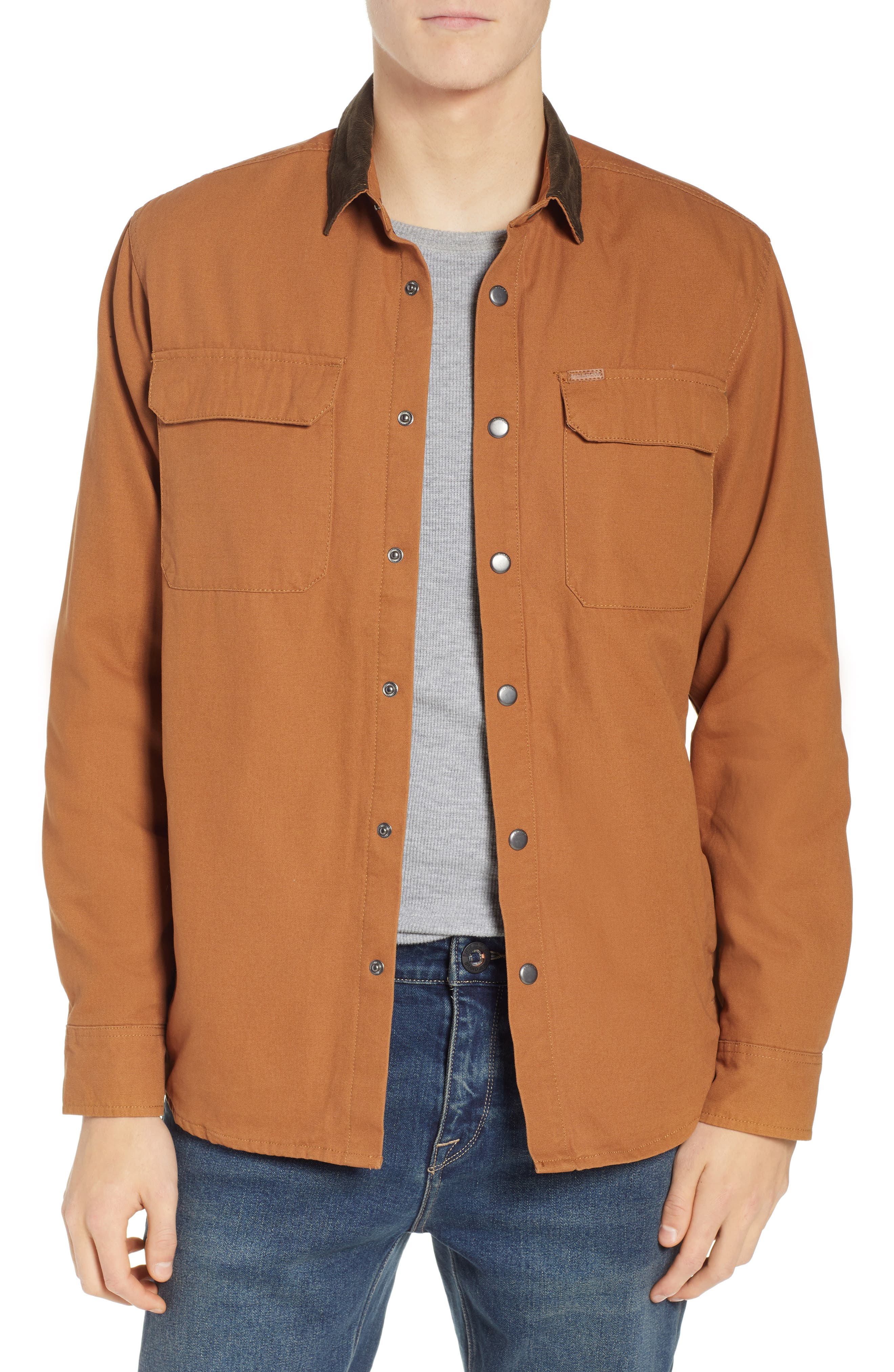 Larkin Classic Fit Jacket,                             Main thumbnail 1, color,                             CAMEL