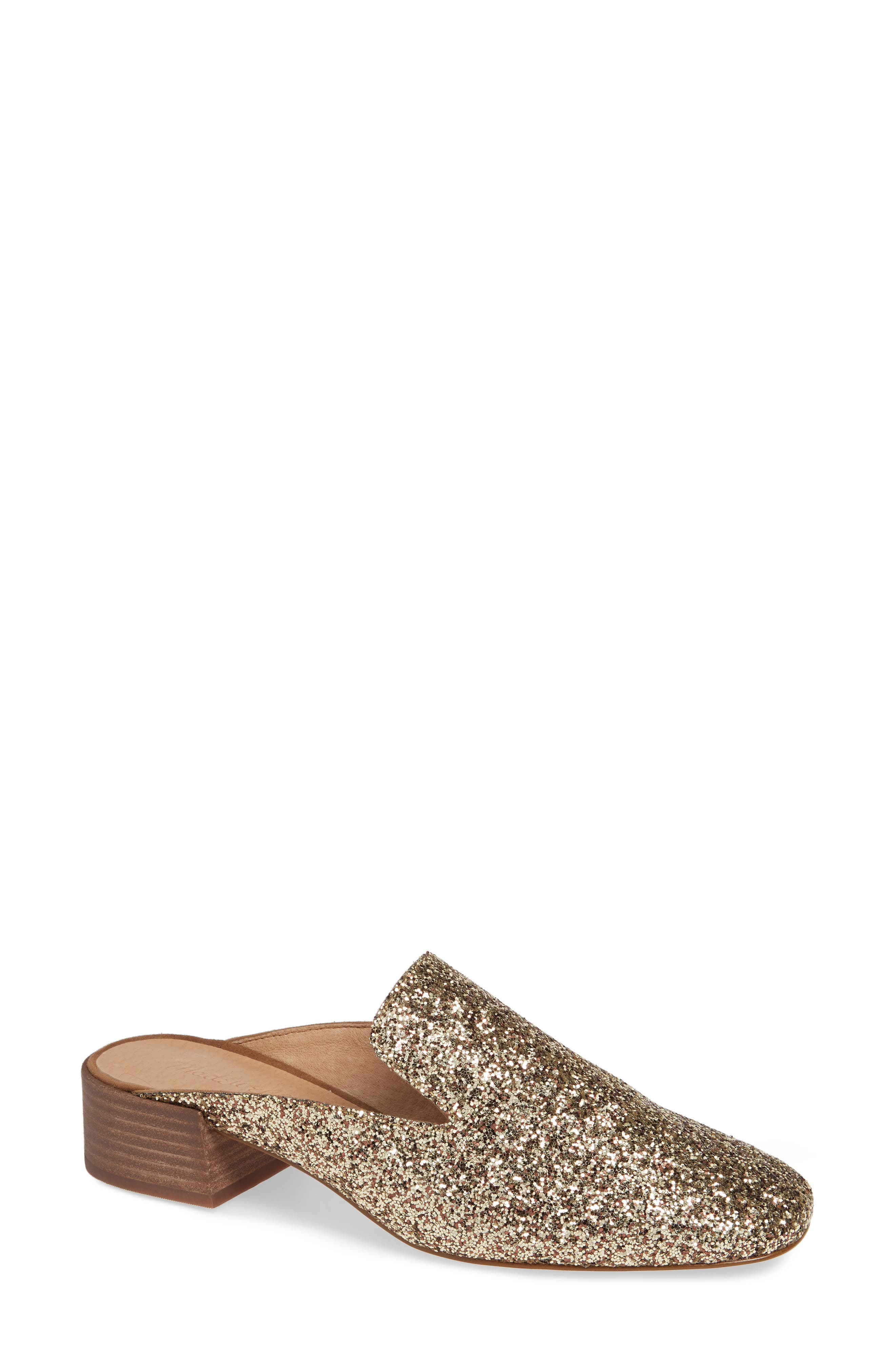 The Willa Loafer Mule,                             Main thumbnail 1, color,                             SMOKY GOLD