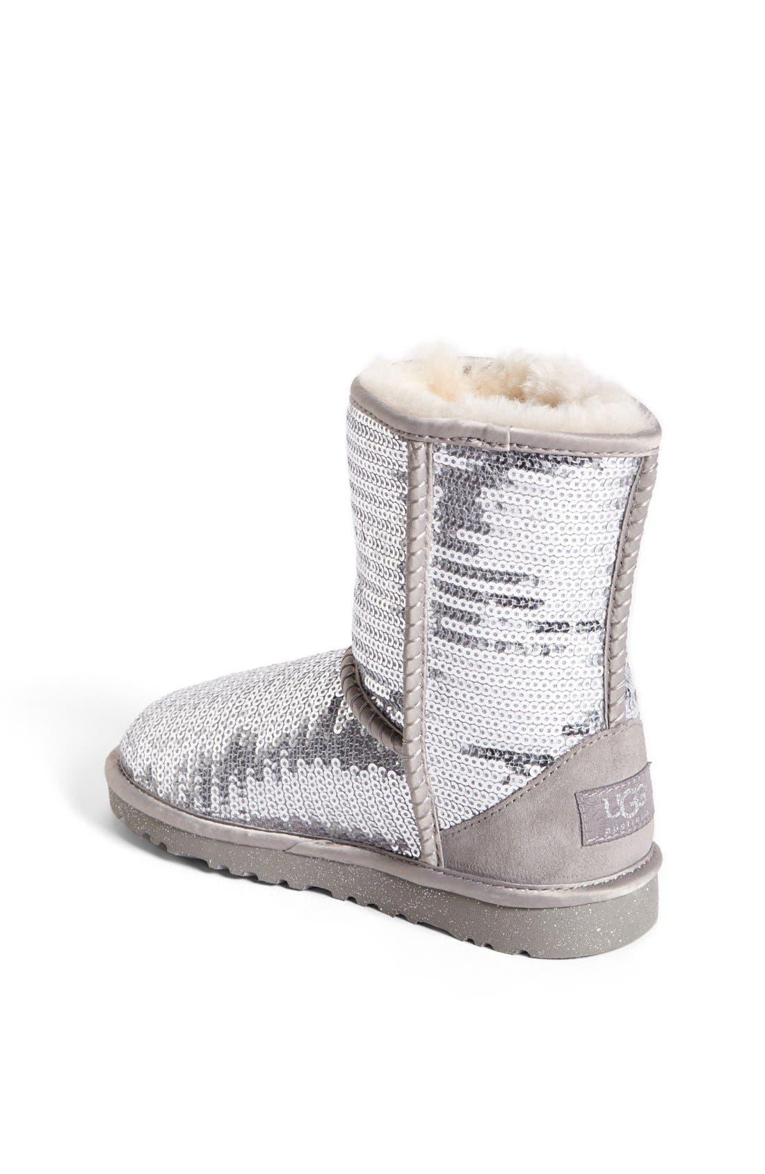'Classic Short Sparkle' Boot,                             Alternate thumbnail 8, color,