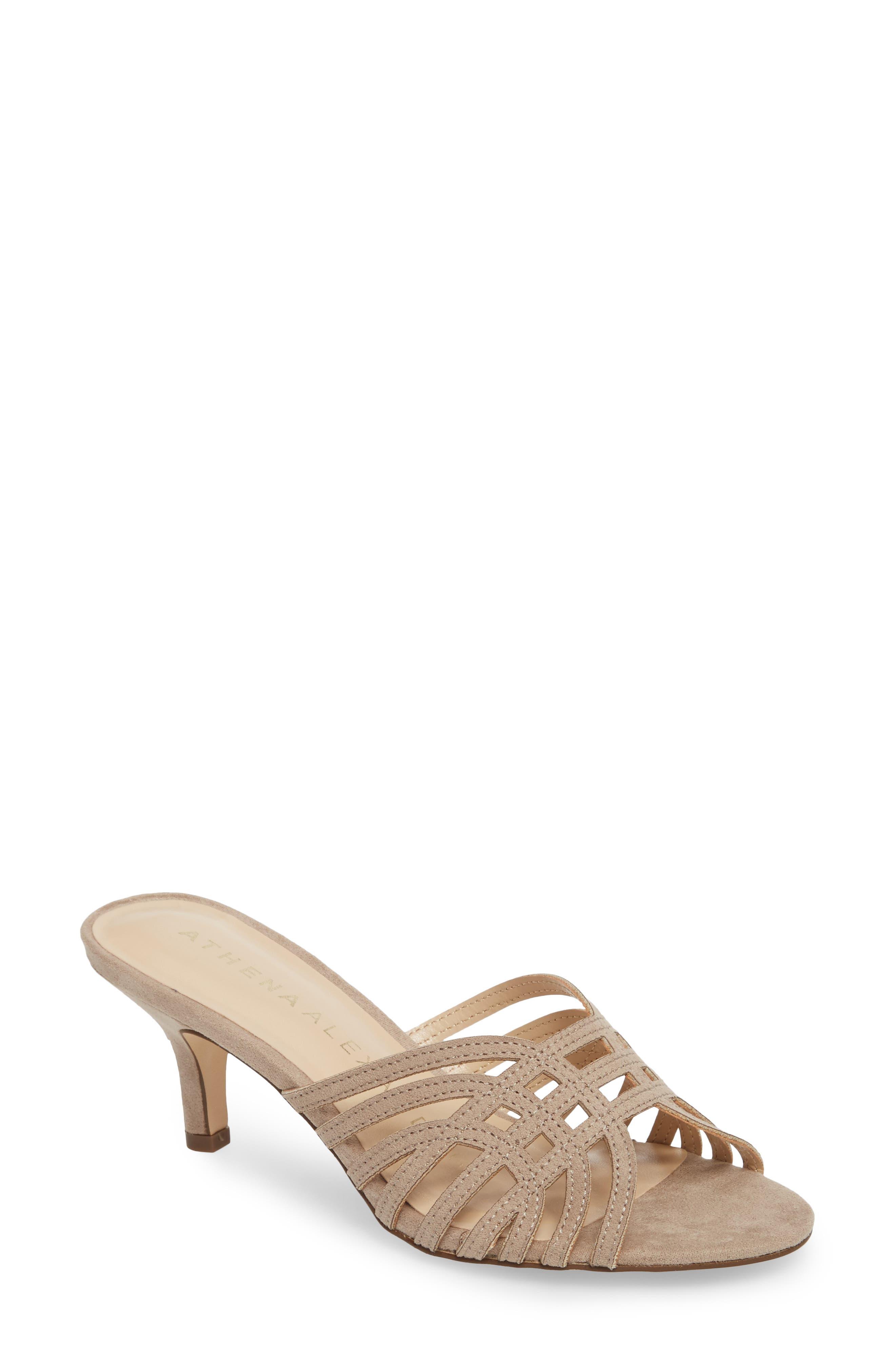 Athena Alexander Cece Cutout Sandal, Beige