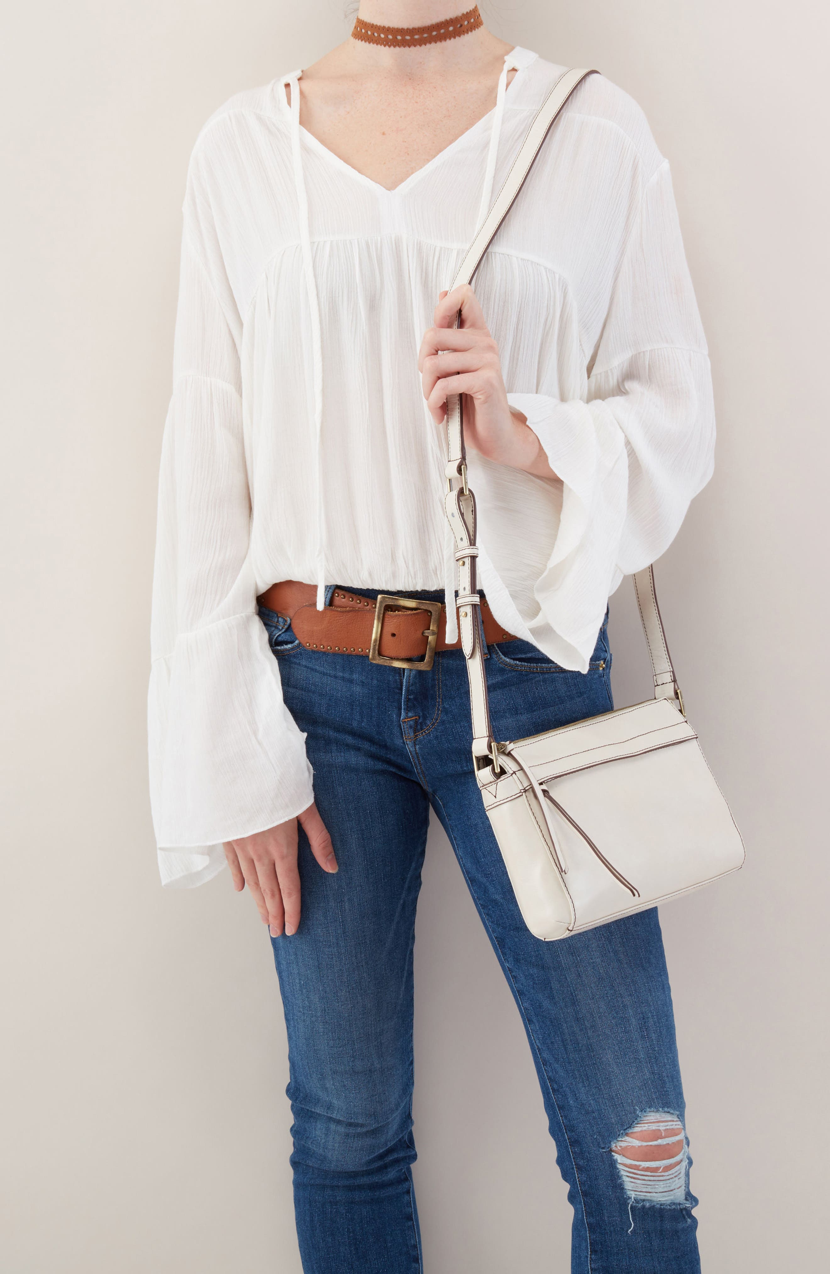 Tobey Leather Crossbody Bag,                             Alternate thumbnail 10, color,