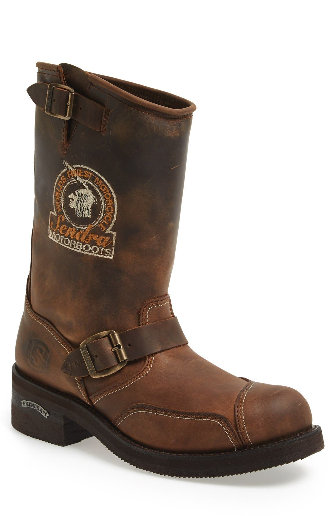'Rider' Motorcycle Boot,                         Main,                         color, 243