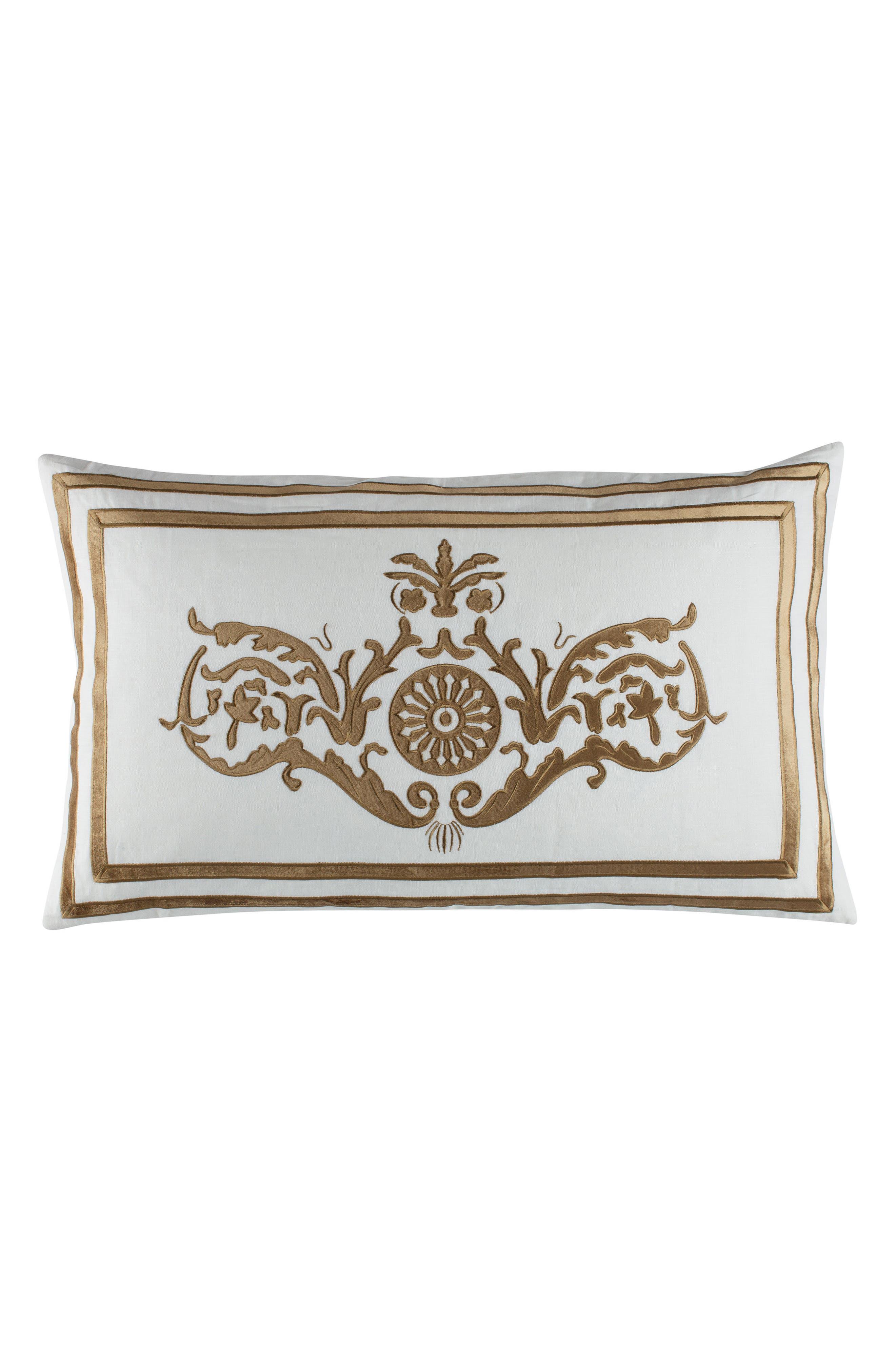 Paris Linen Accent Pillow,                             Main thumbnail 1, color,                             100