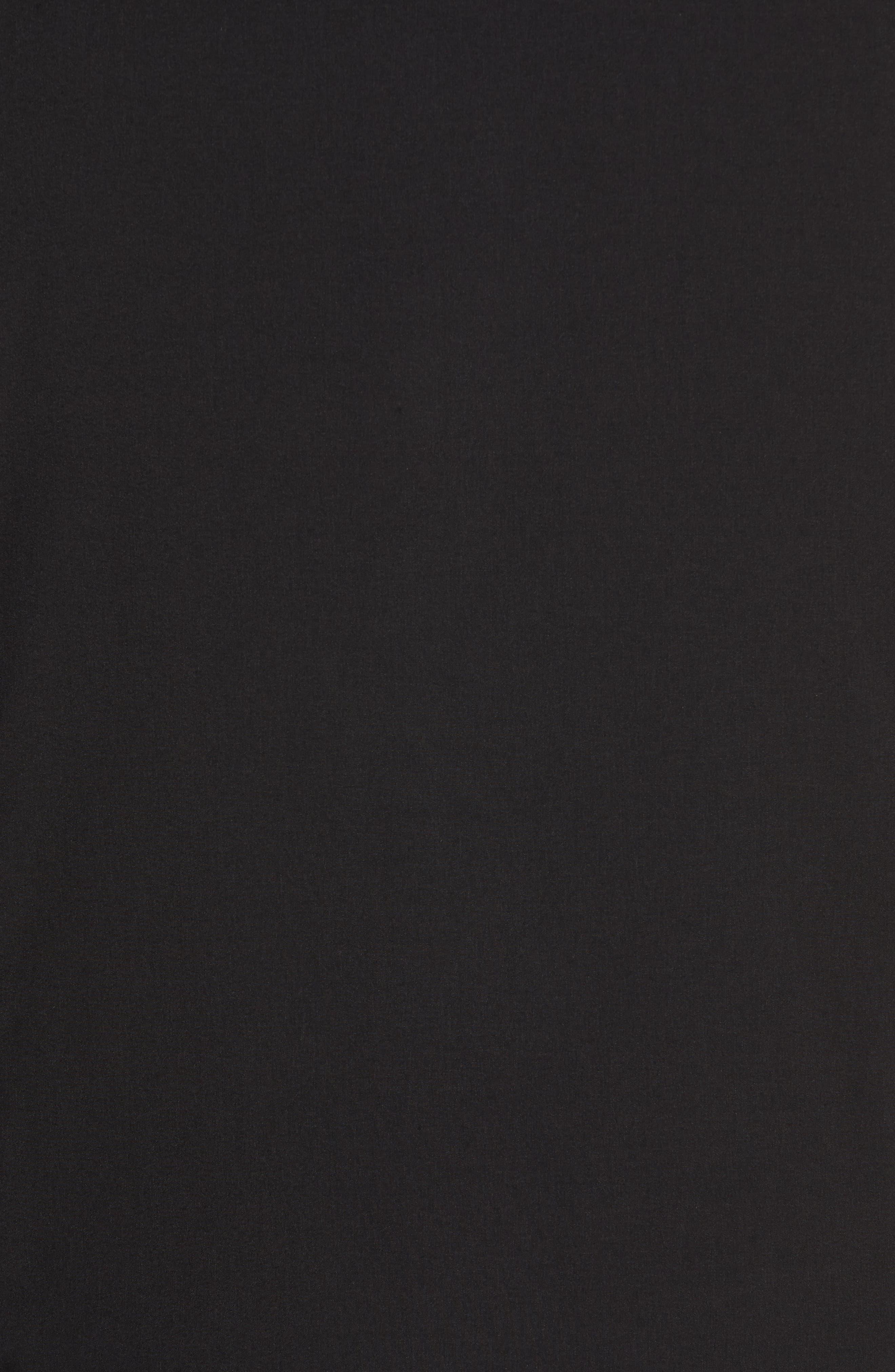 VINCE CAMUTO,                             Slim Fit Quilted Vest,                             Alternate thumbnail 5, color,                             BLACK