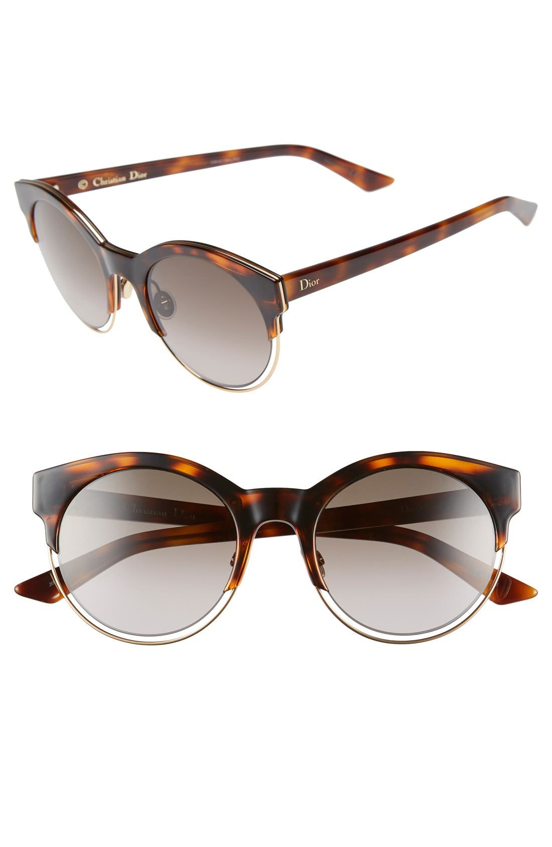 Siderall 1 53mm Round Sunglasses,                             Main thumbnail 5, color,