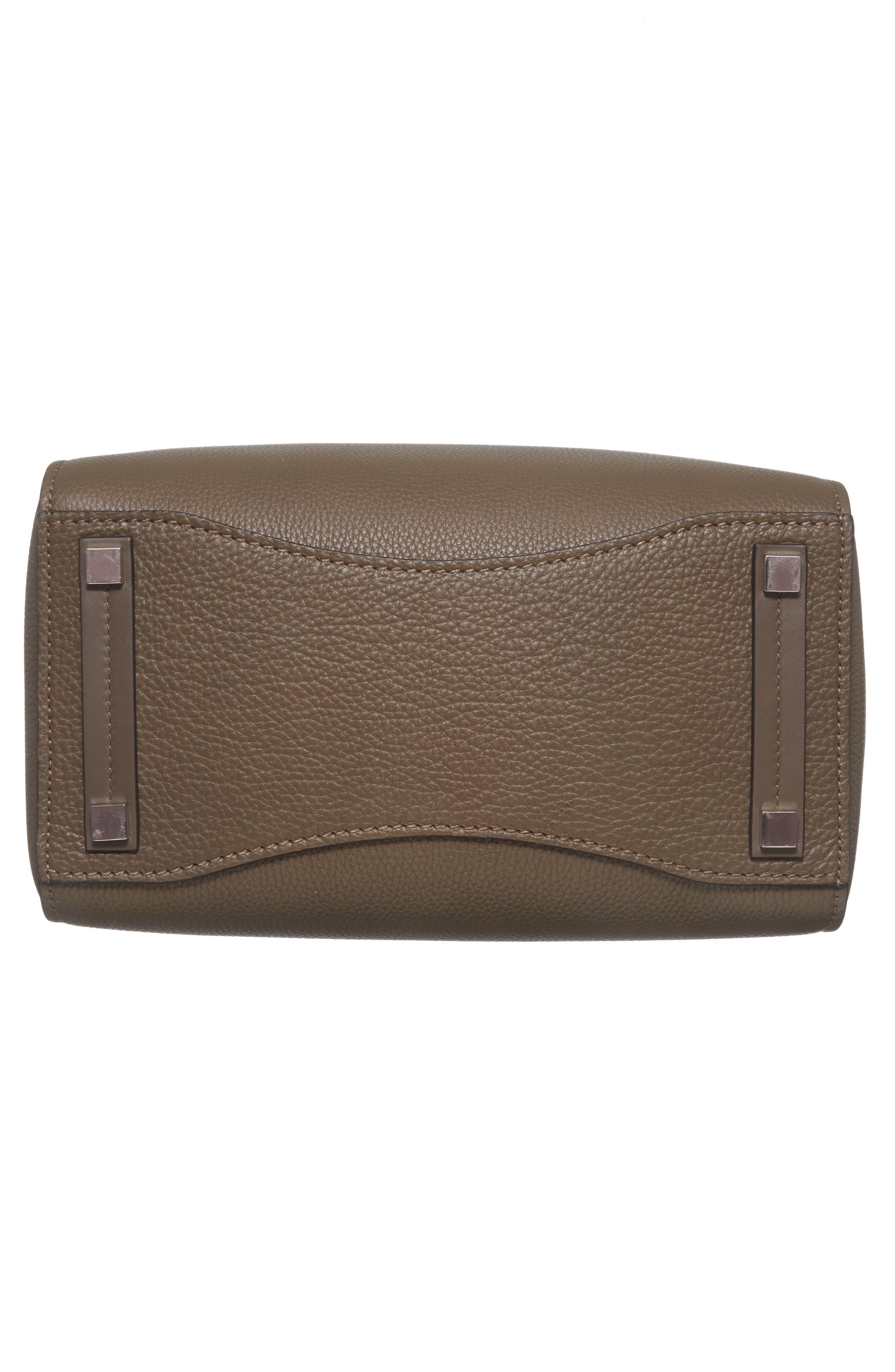 Large Barncroft Leather Convertible Satchel,                             Alternate thumbnail 6, color,                             020