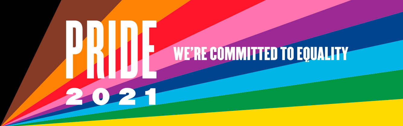 Pride 2021: we're committed to equality.
