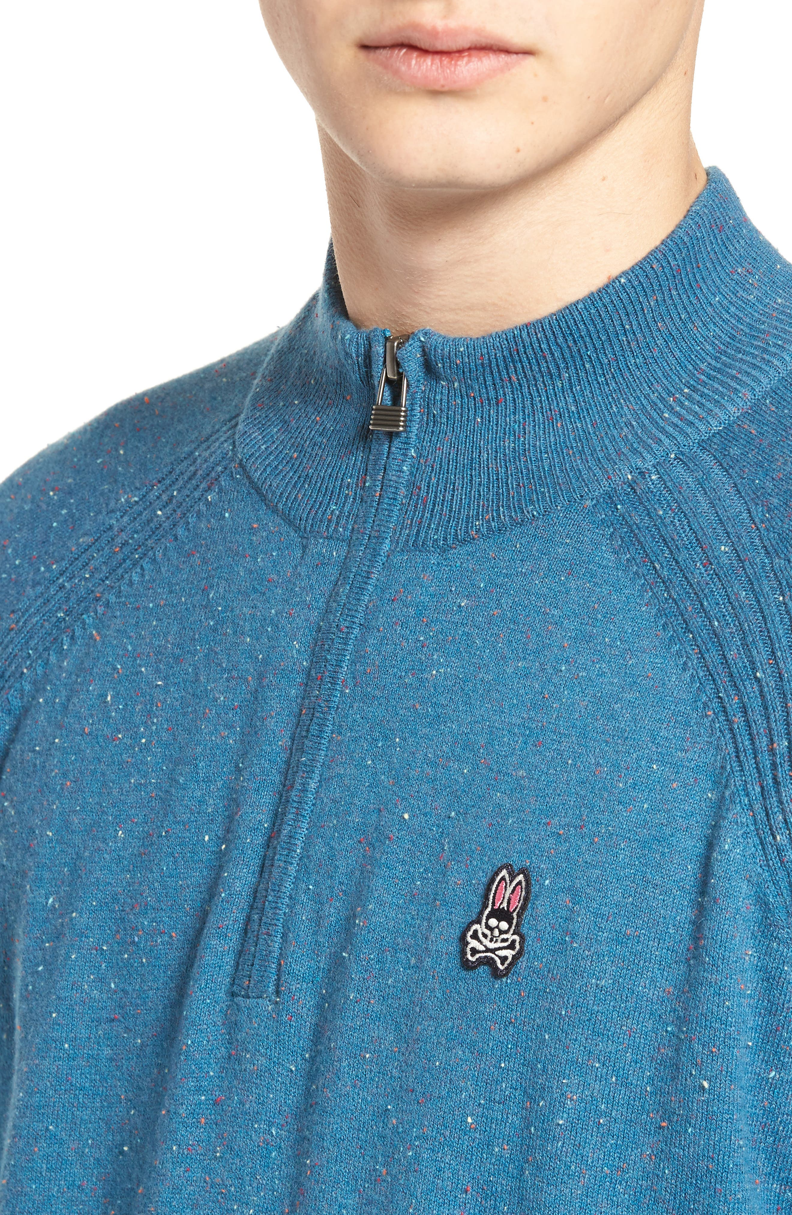Donegal Quarter Zip Pullover,                             Alternate thumbnail 4, color,                             445