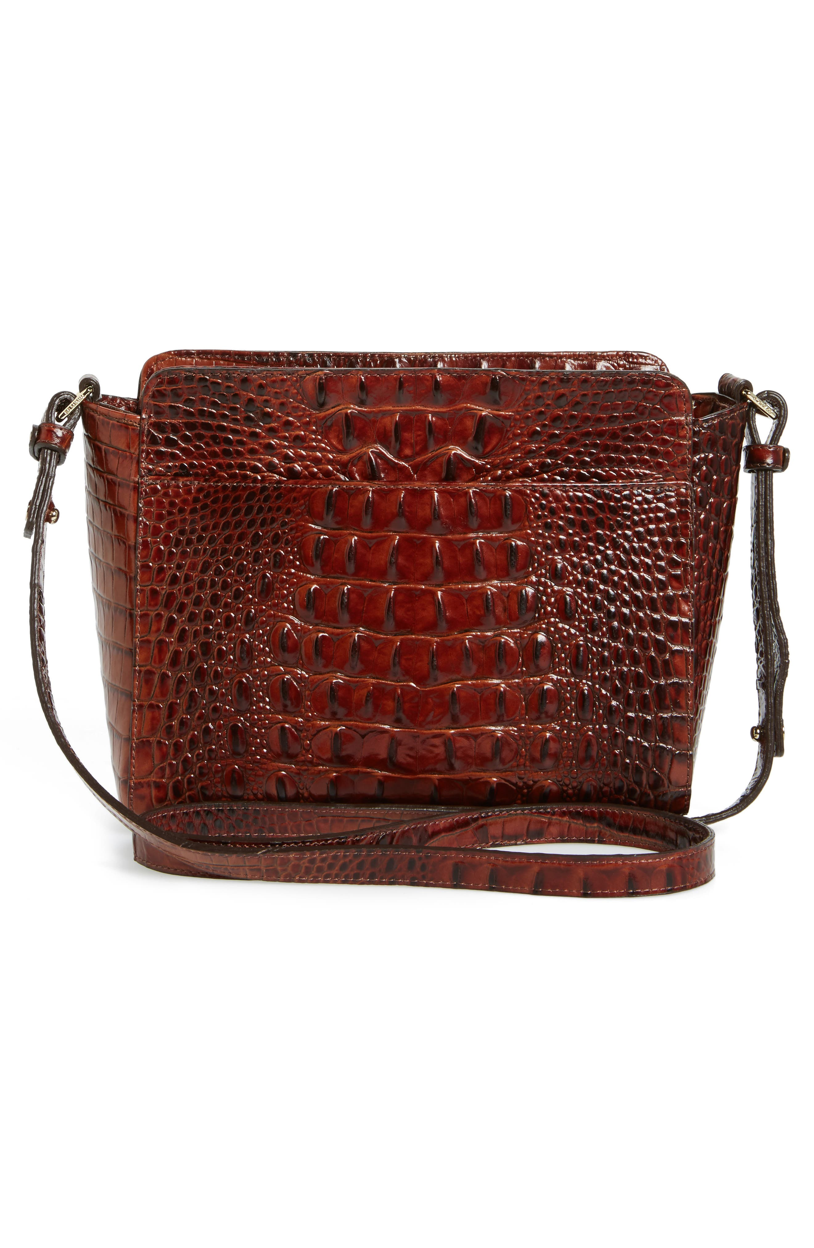 Melbourne Carrie Leather Crossbody Bag,                             Alternate thumbnail 8, color,
