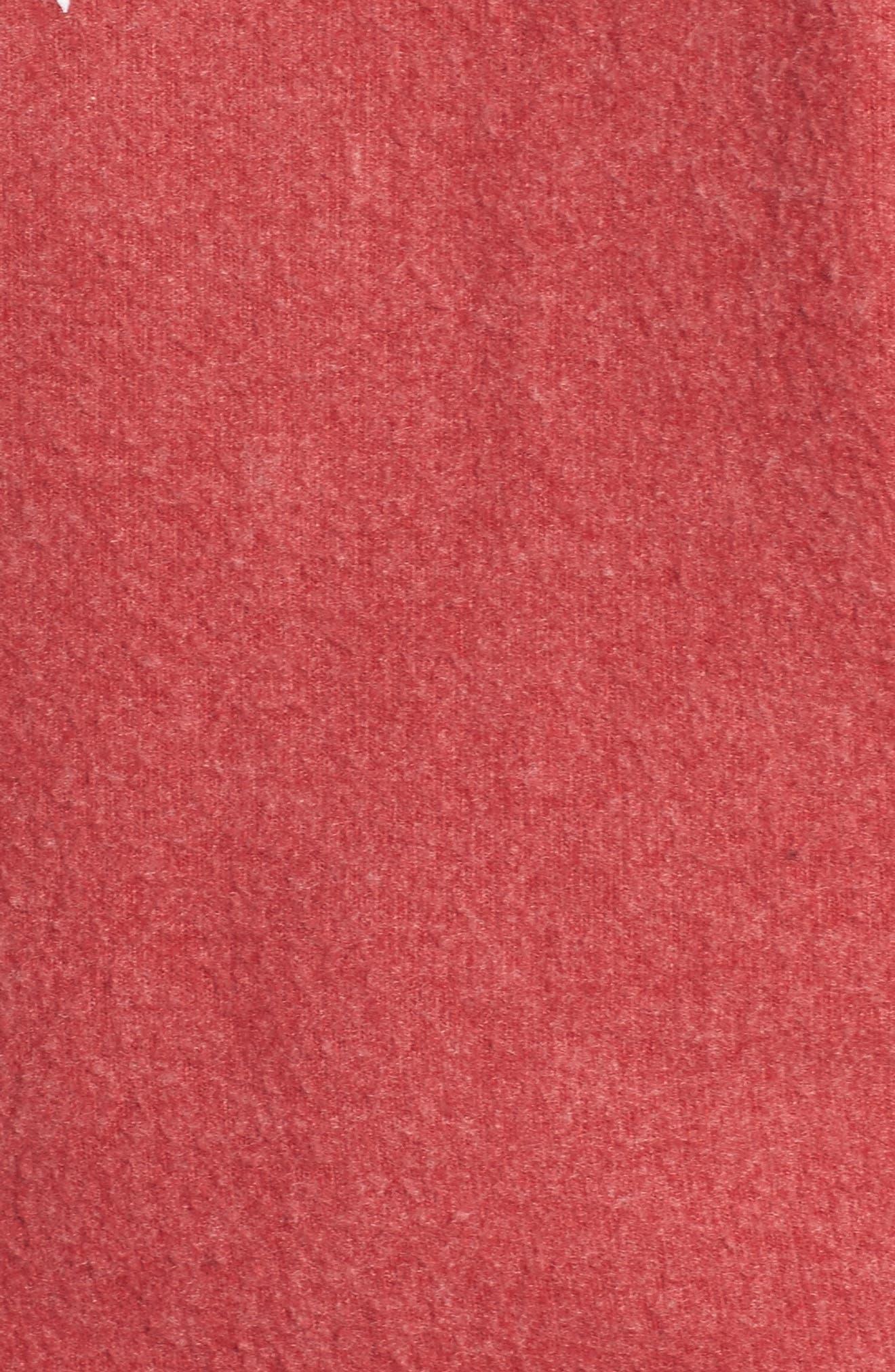 Love Saturday Drape Back Pullover,                             Alternate thumbnail 5, color,