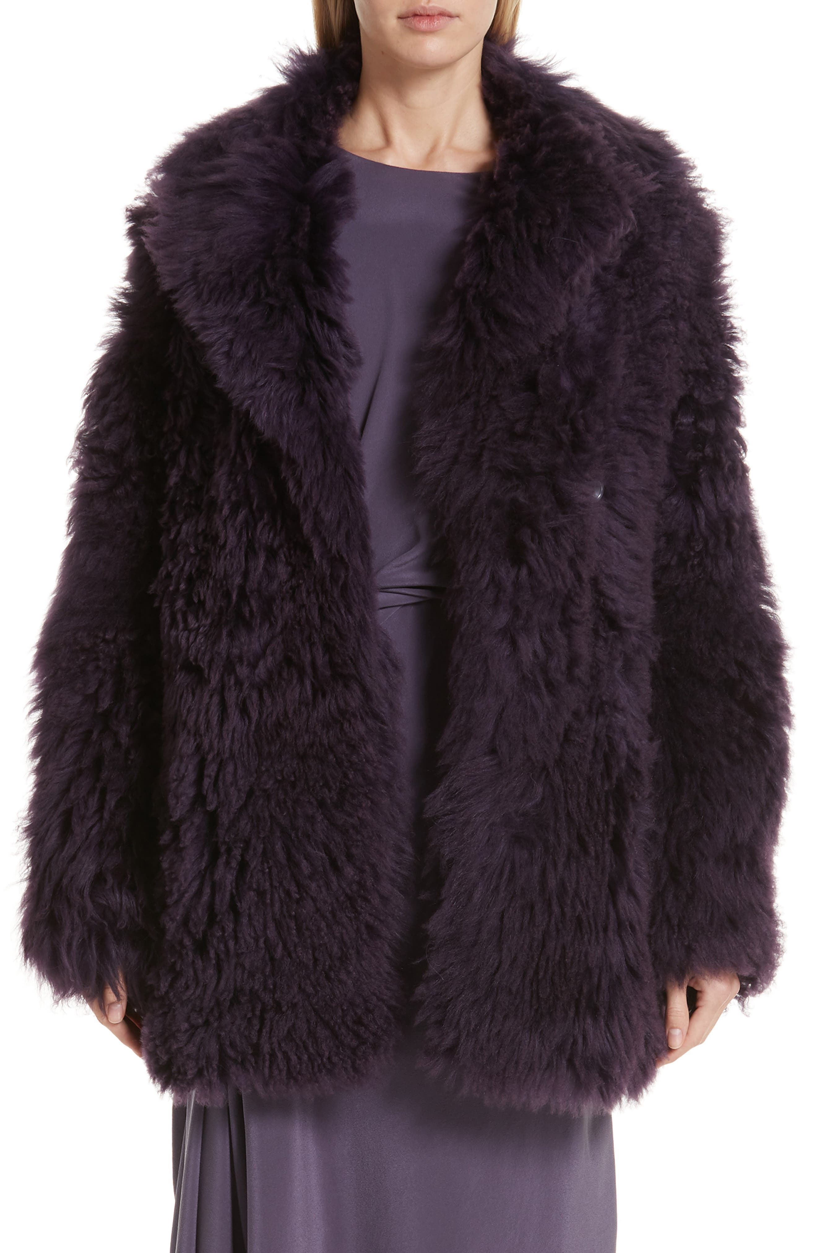 Sies Marjan Pippa Tigrado Genuine Shearling Coat