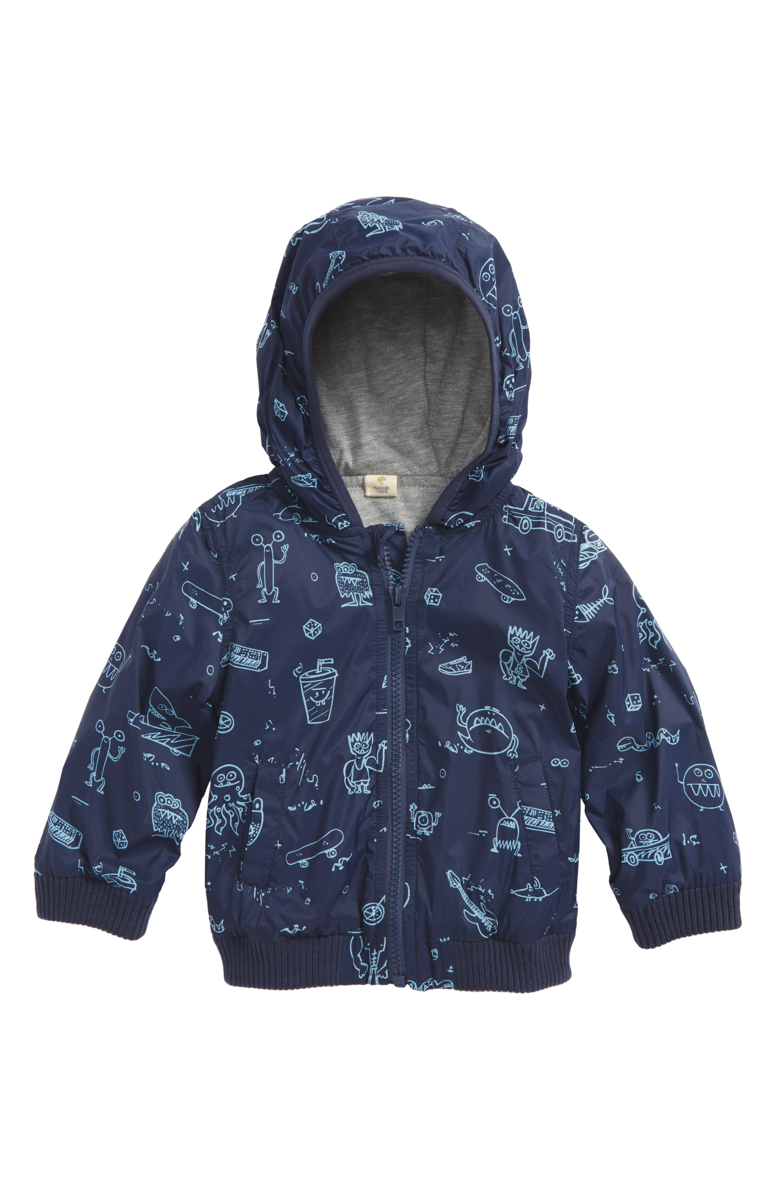 Hooded Jacket,                         Main,                         color, 410