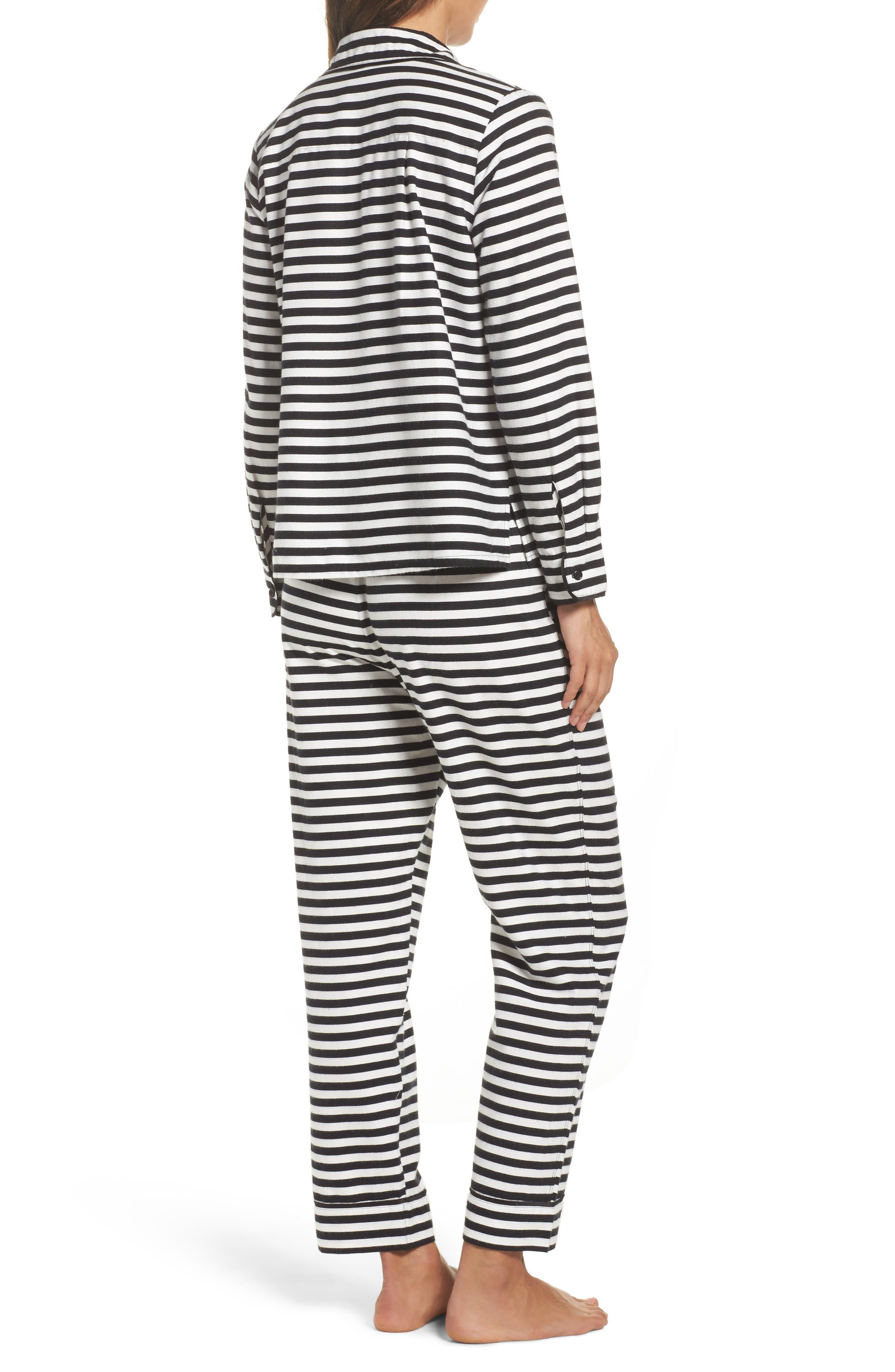 flannel pajamas,                             Alternate thumbnail 2, color,                             008
