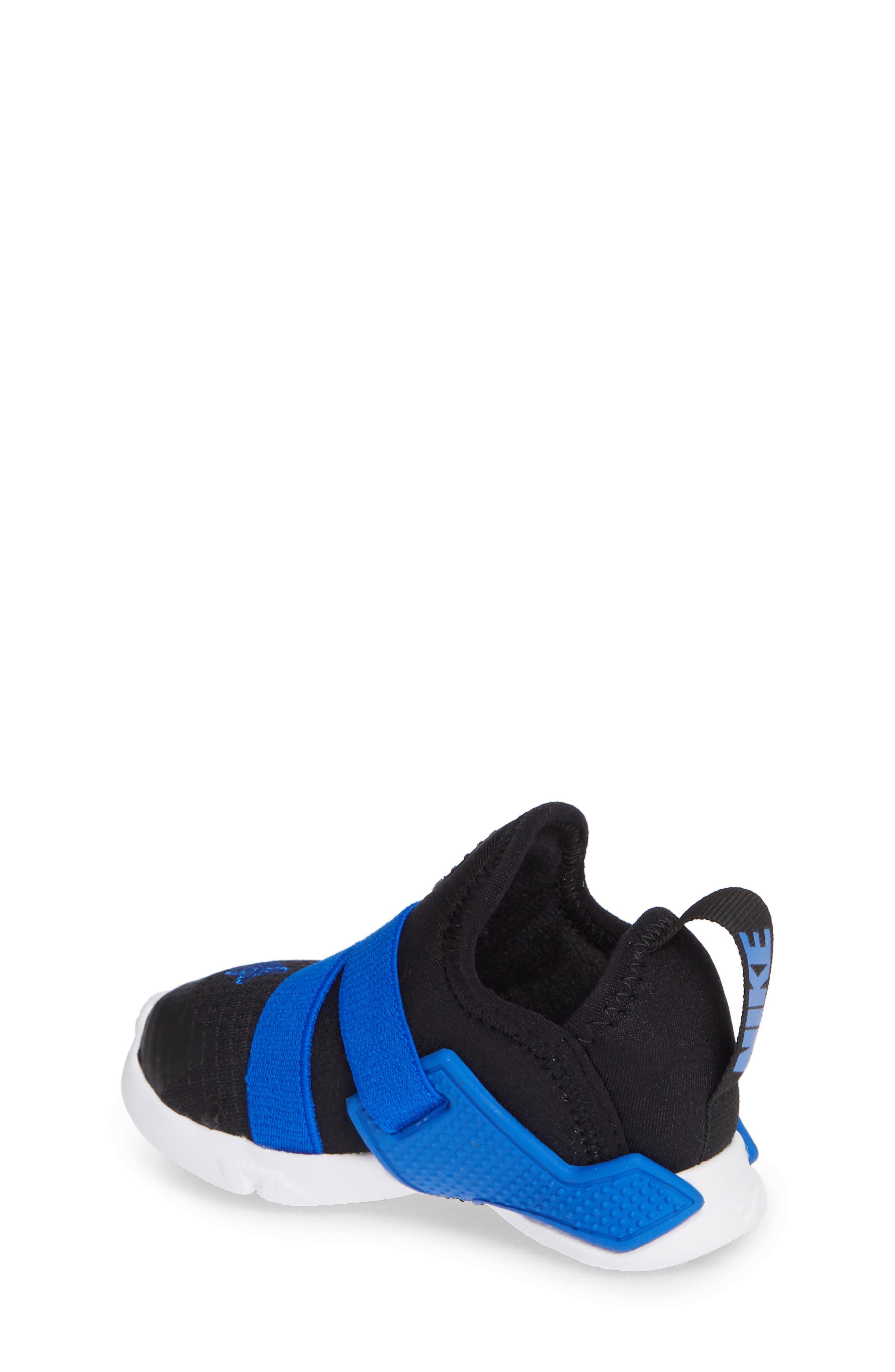 Huarache Extreme Sneaker,                             Alternate thumbnail 2, color,                             BLACK/ BLUE-WHITE