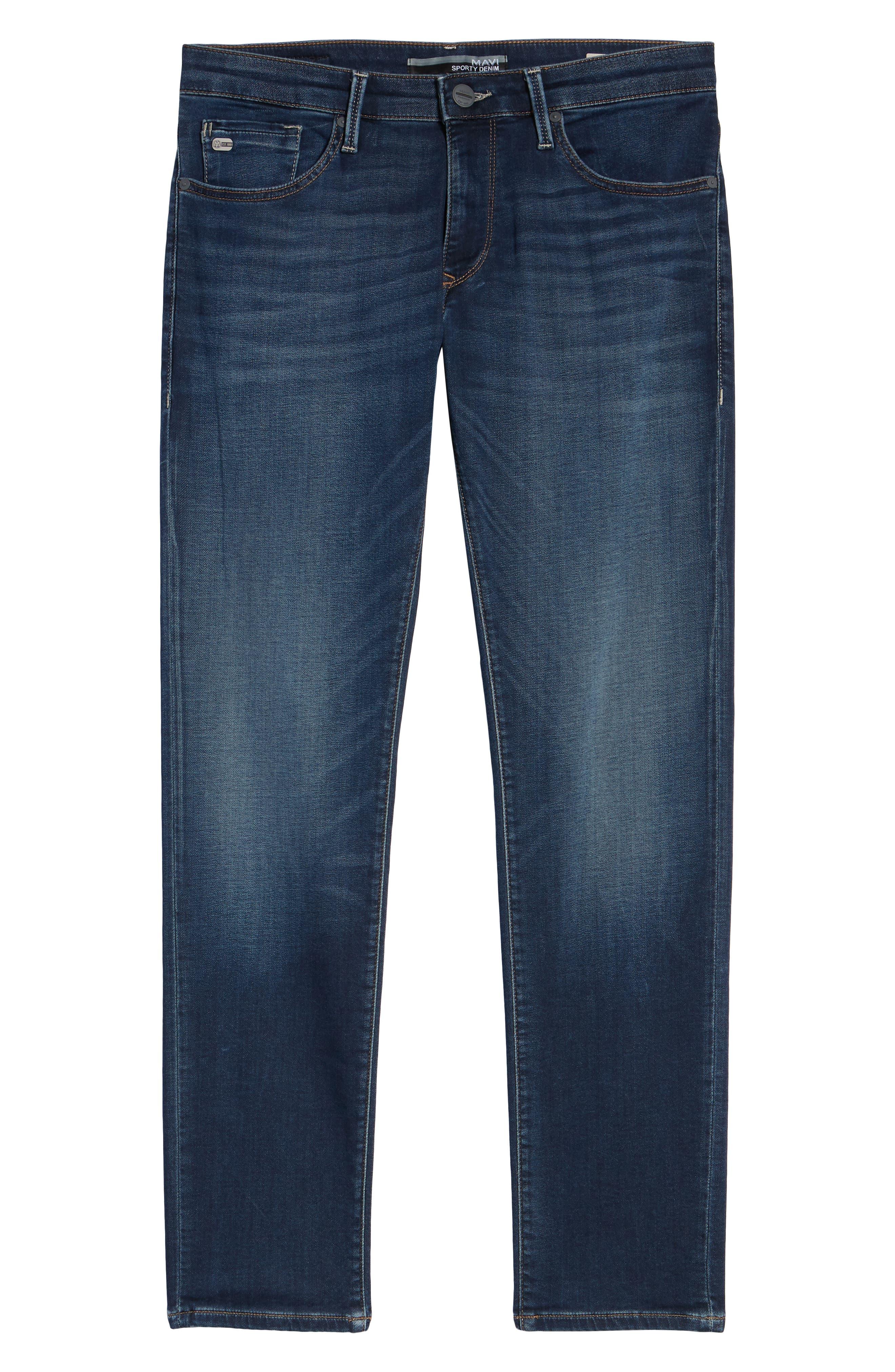 Jake Slim Fit Jeans,                             Alternate thumbnail 6, color,                             DARK SPORTY