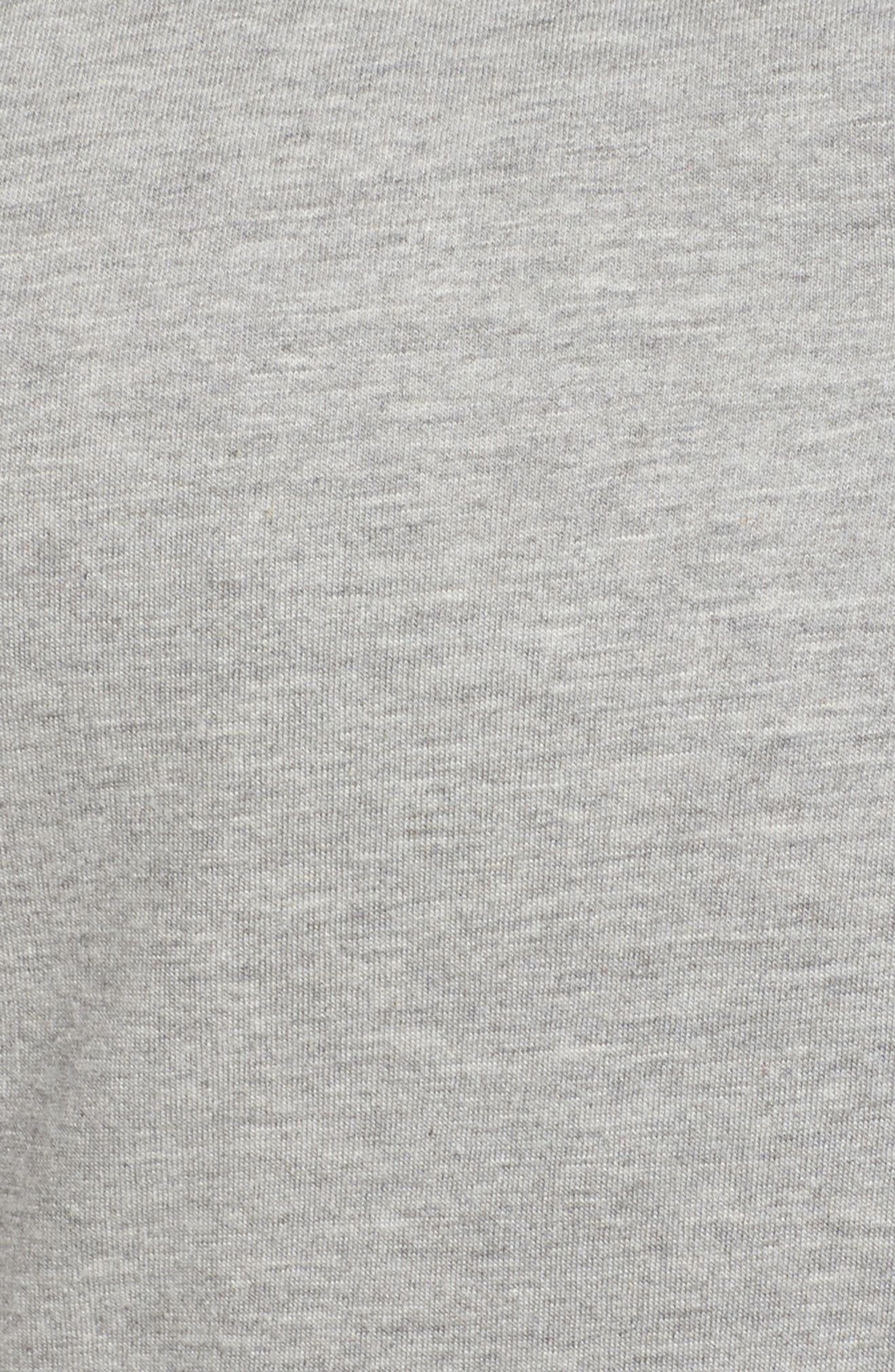 Hooded Knit Anorak,                             Alternate thumbnail 6, color,                             055