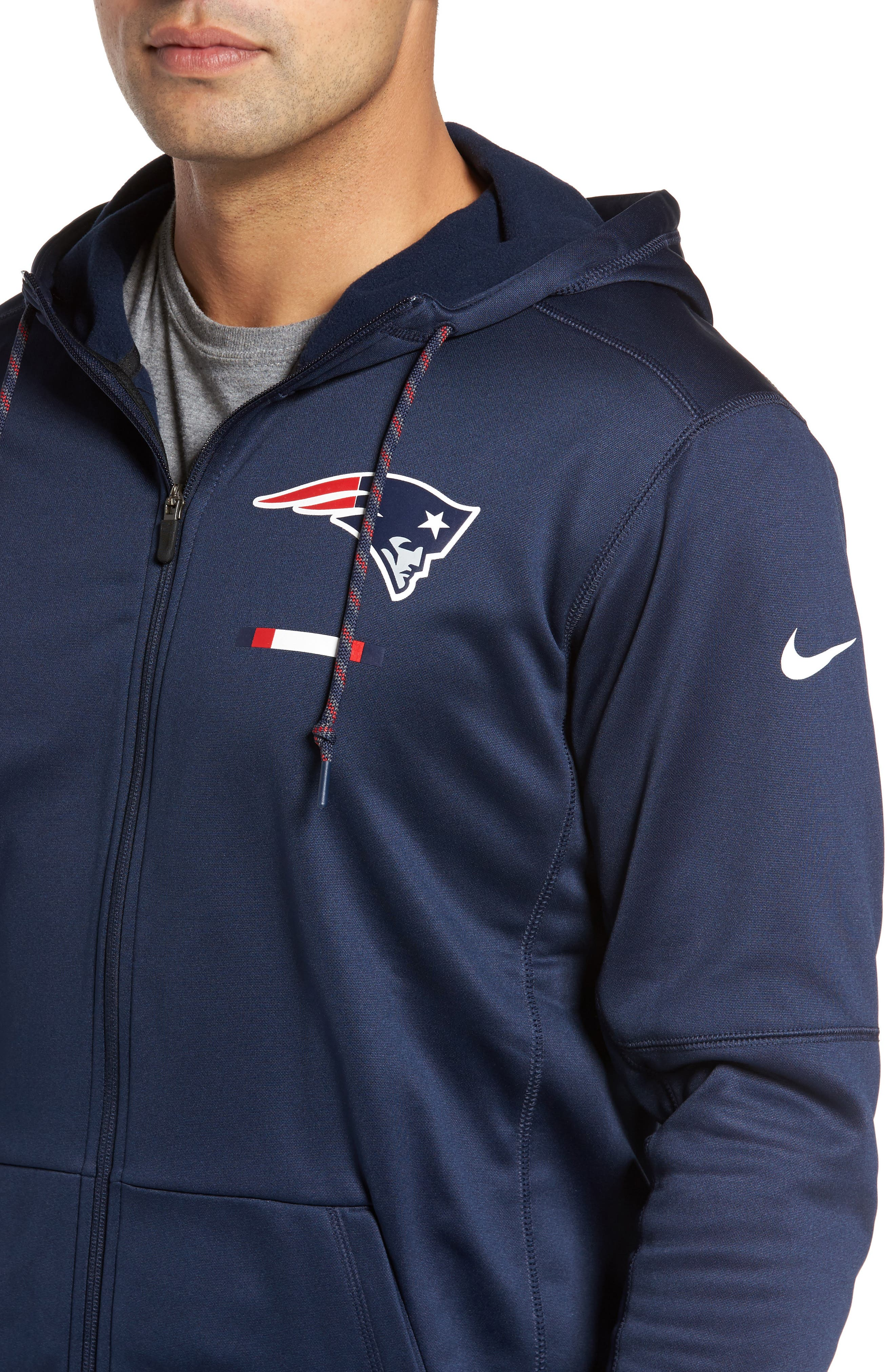 Therma-FIT NFL Graphic Zip Hoodie,                             Alternate thumbnail 25, color,