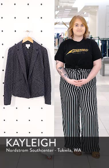 Knit Blazer, sales video thumbnail