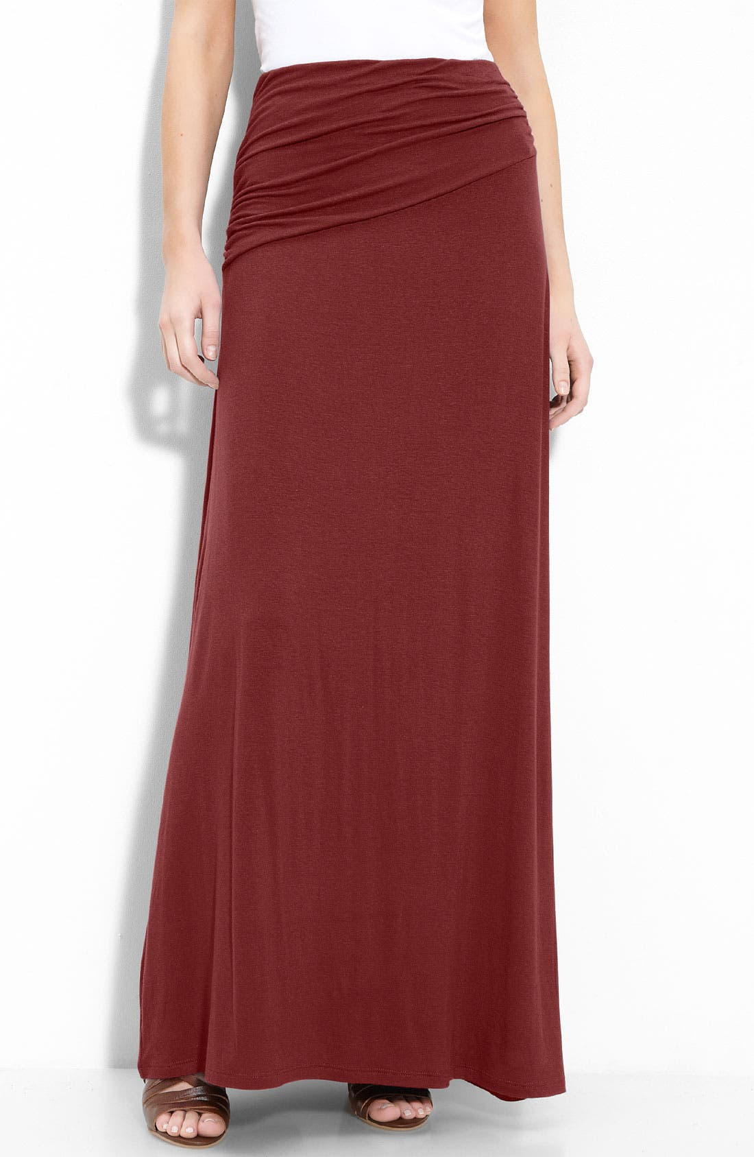 Asymmetric Knit Maxi Skirt,                             Main thumbnail 10, color,