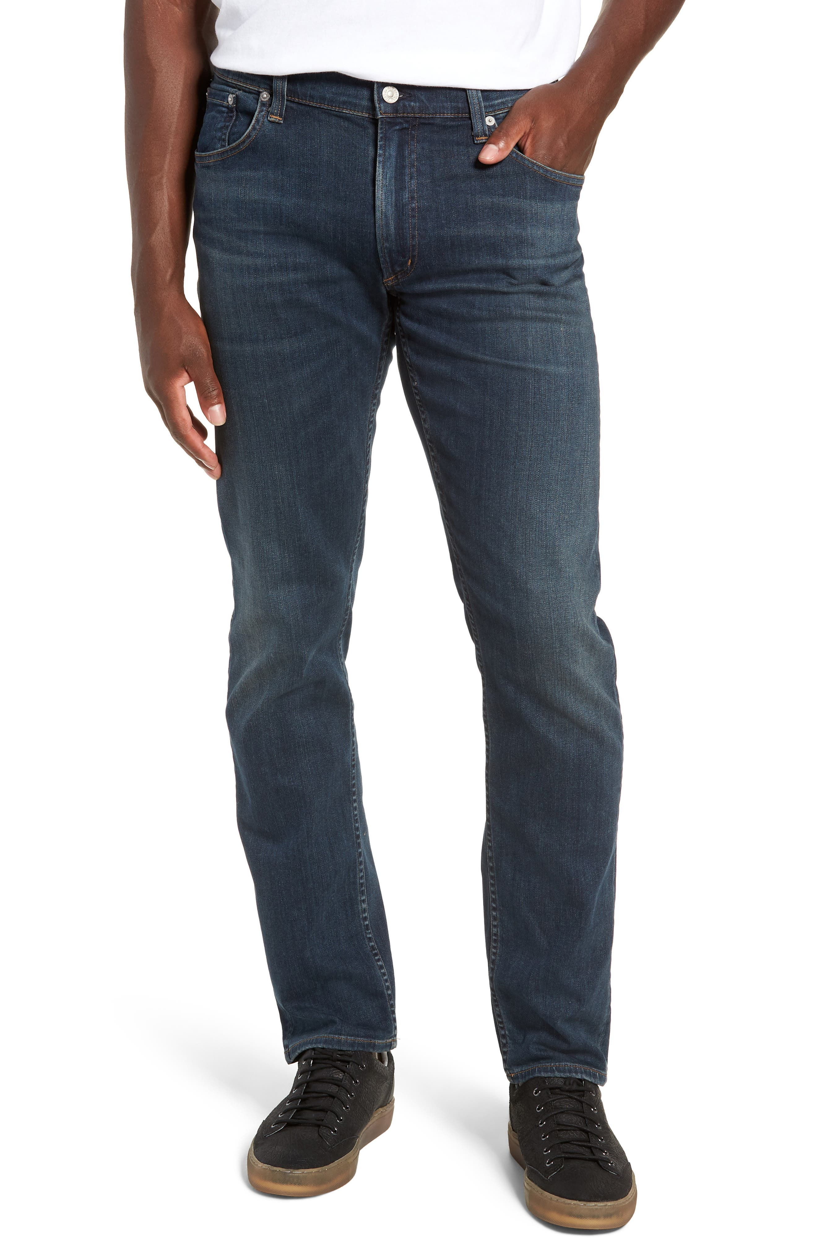 PERFORM - Bowery Slim Fit Jeans,                             Main thumbnail 1, color,                             424