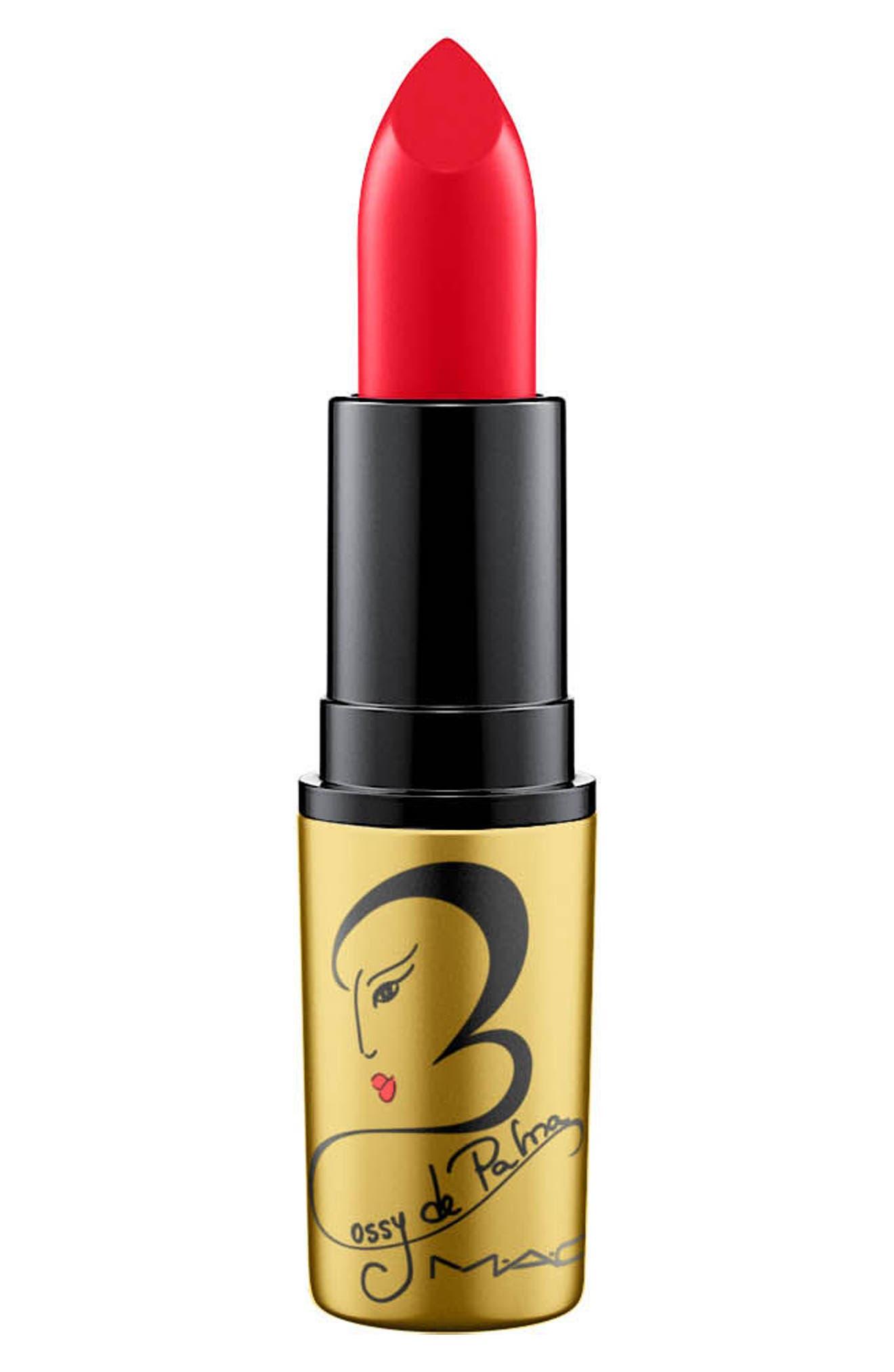 MAC Rossy de Palma Lipstick,                             Alternate thumbnail 6, color,