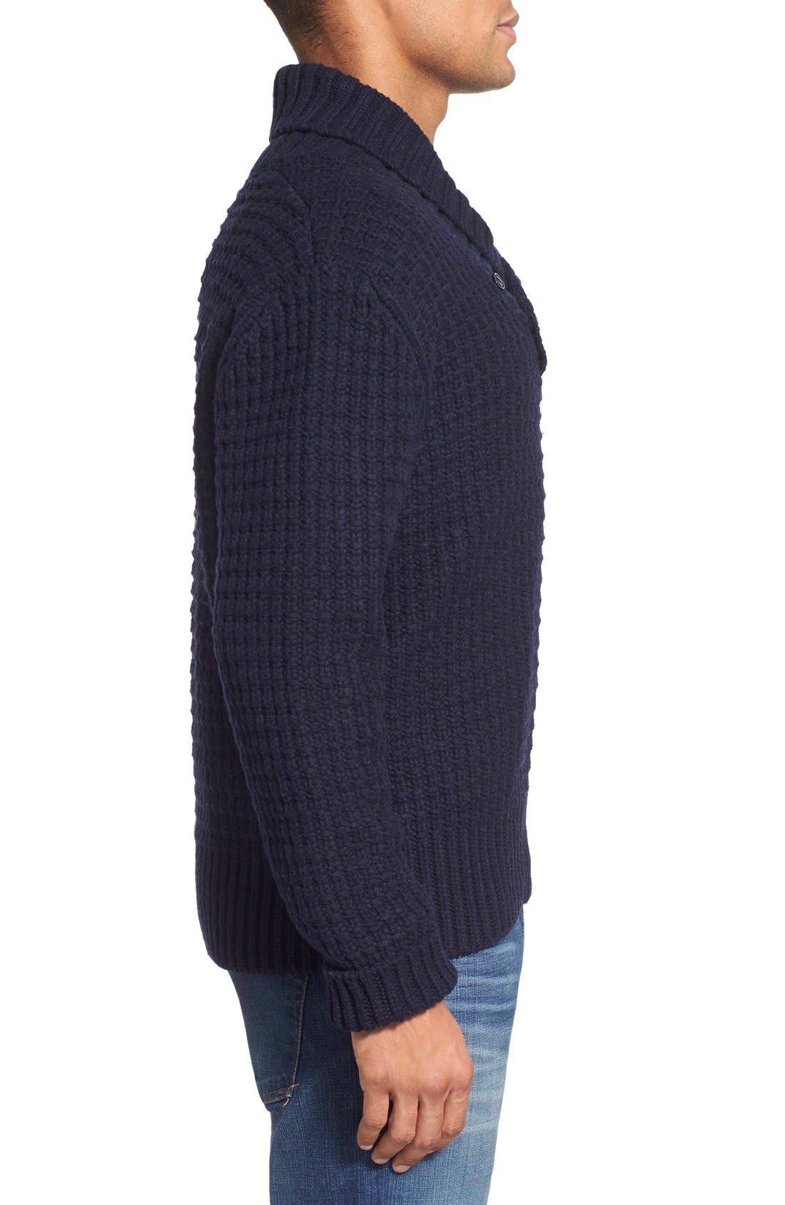 Shawl Collar Knit Pullover,                             Alternate thumbnail 12, color,