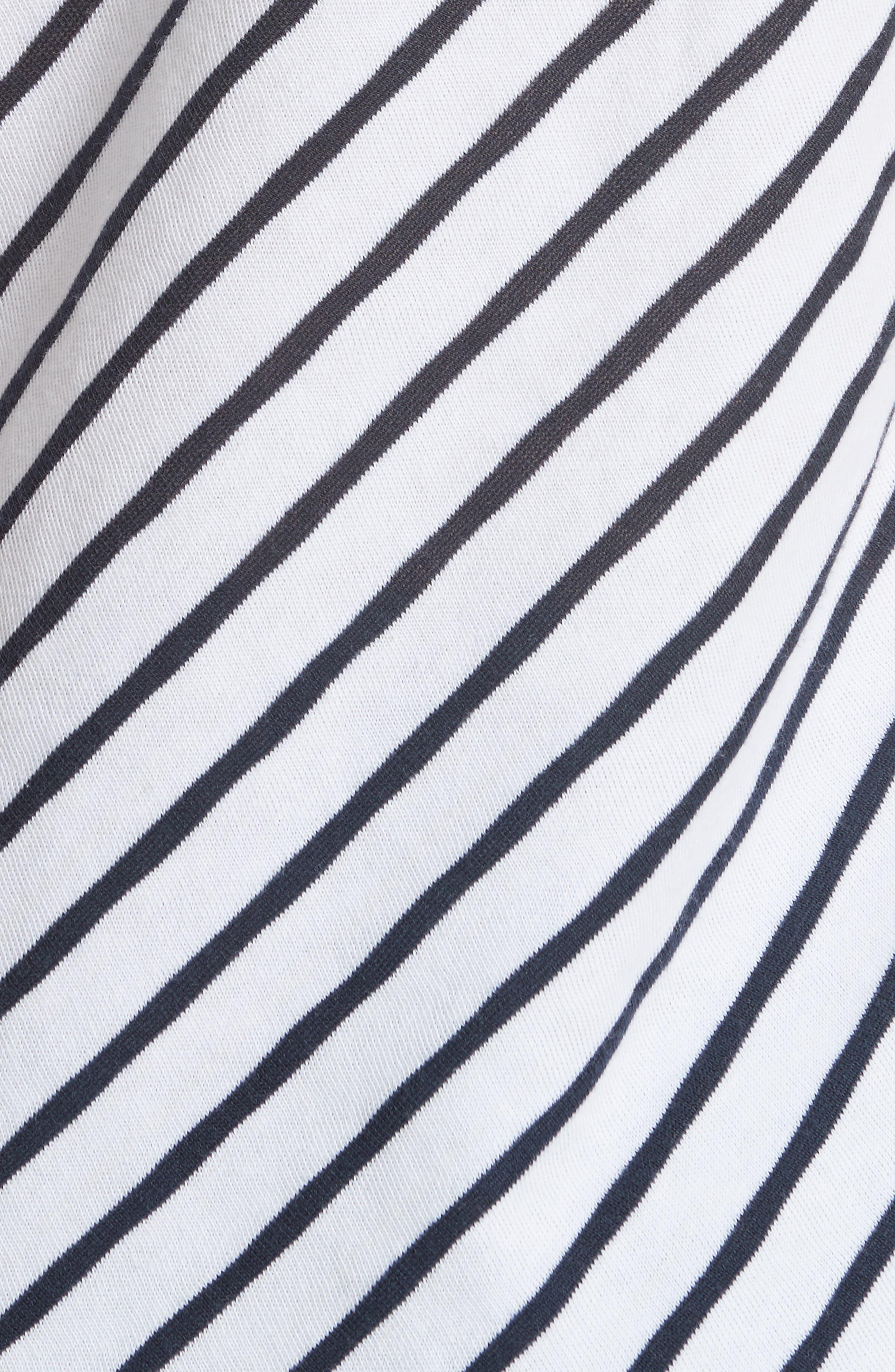 Dakota Stripe Tee,                             Alternate thumbnail 5, color,                             410