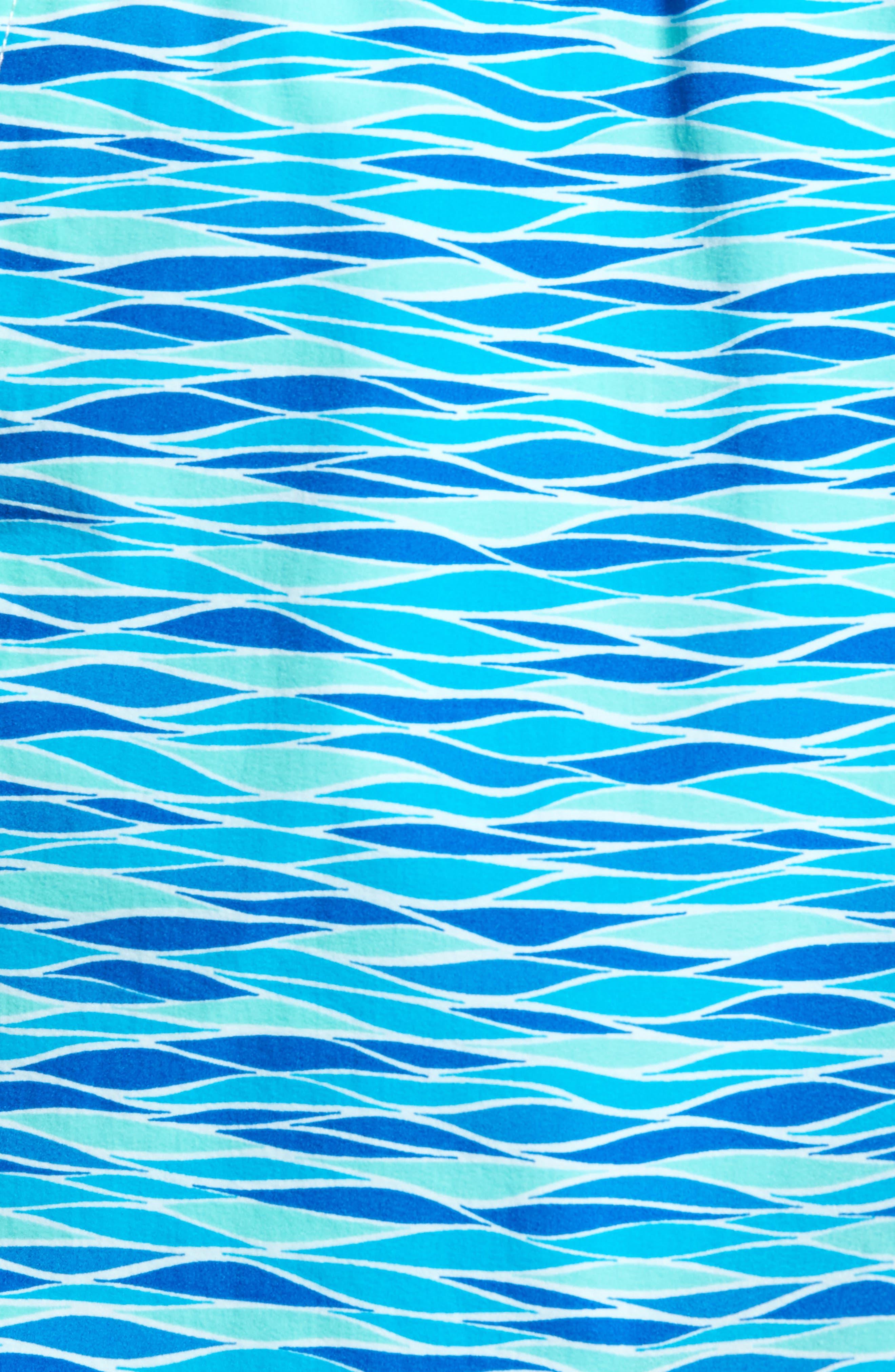 Printer Swim Trunks,                             Alternate thumbnail 5, color,                             427
